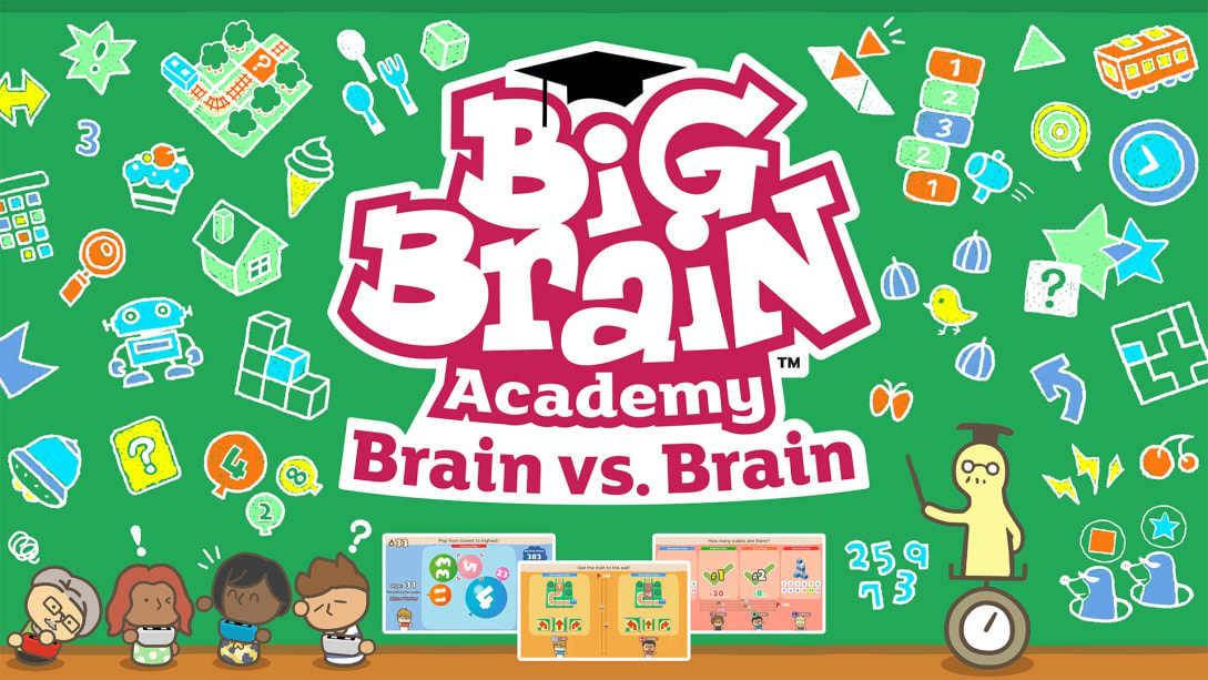 Big Brain Academy: Brain vs Brain for Nintendo Switch
