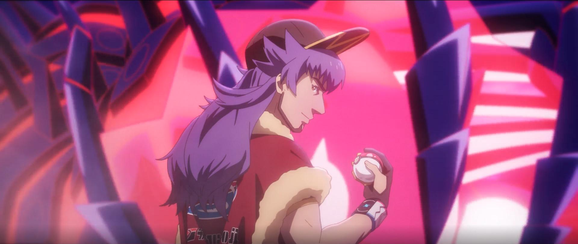 Leon in the animated Pokemon Evolutions series