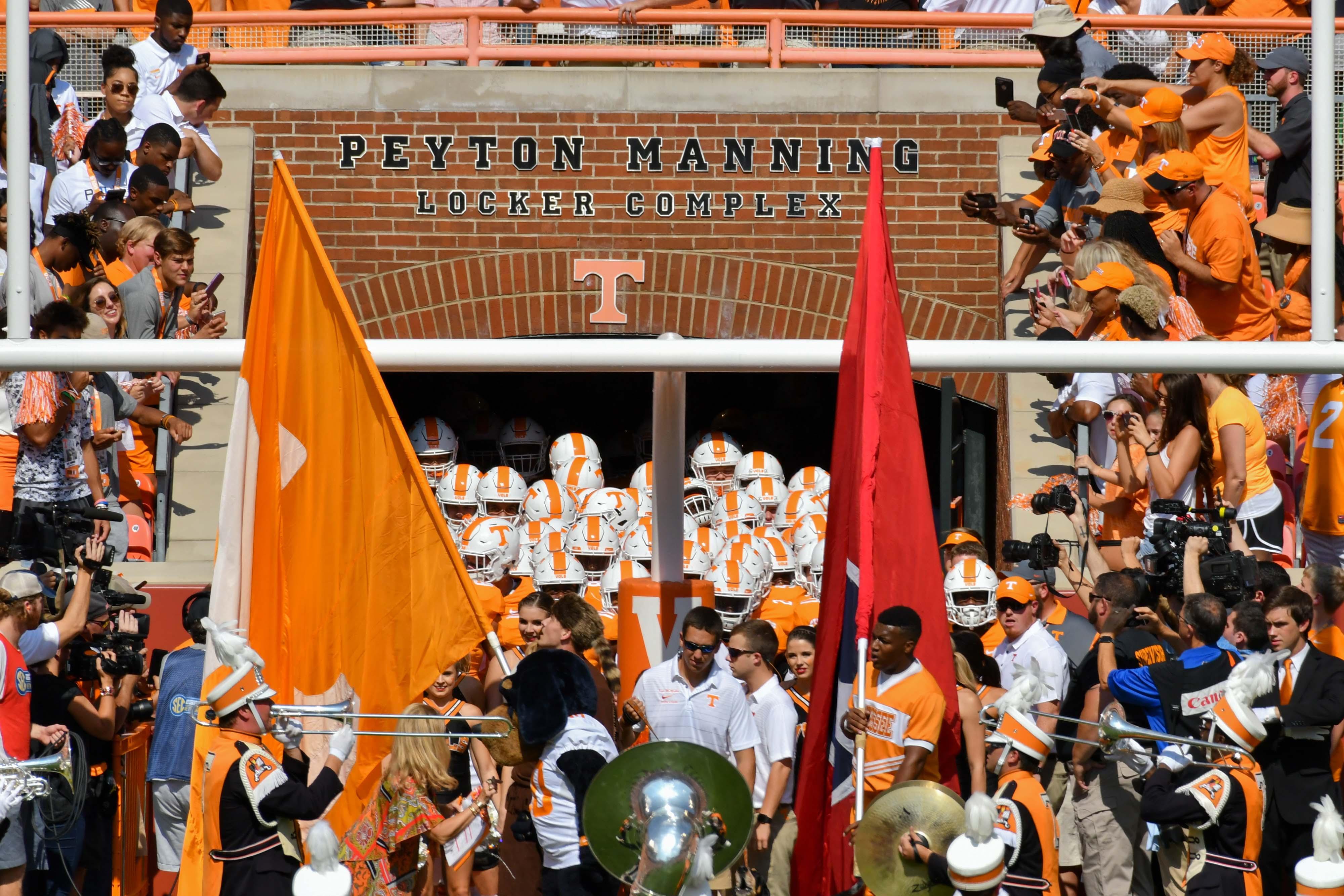 NCAA Football: Massachusetts at Tennessee