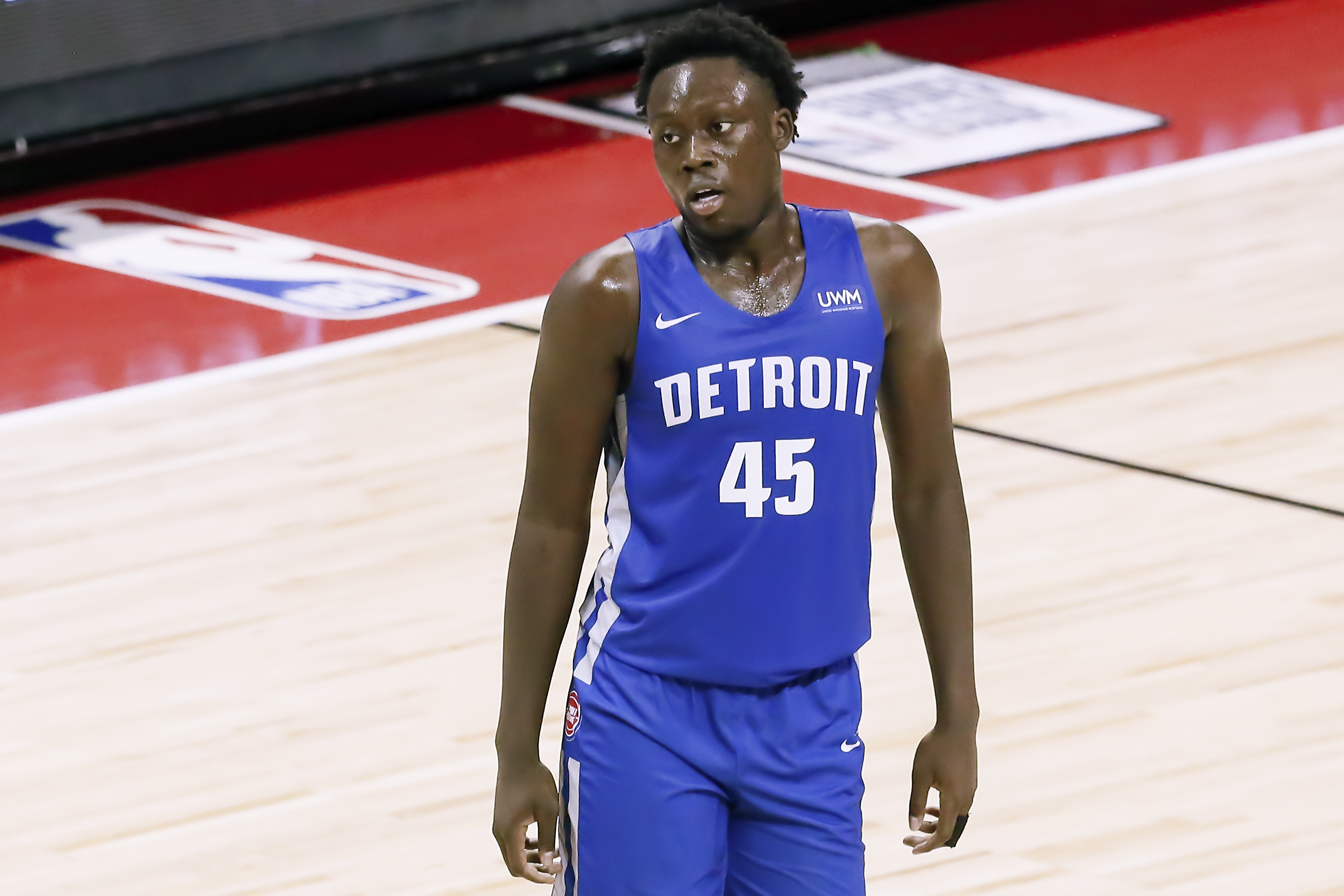 2021 Las Vegas Summer League - Houston Rockets v Detroit Pistons