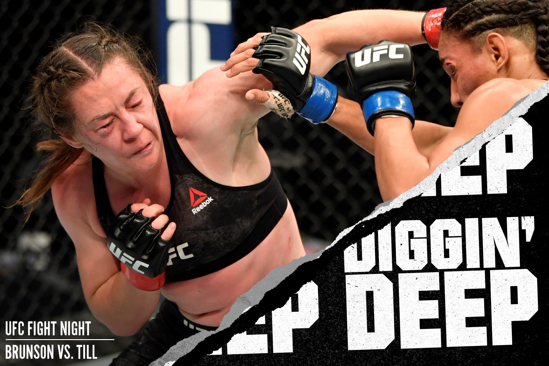 Molly McCann fighting Taila Santos at UFC Fight Island 1