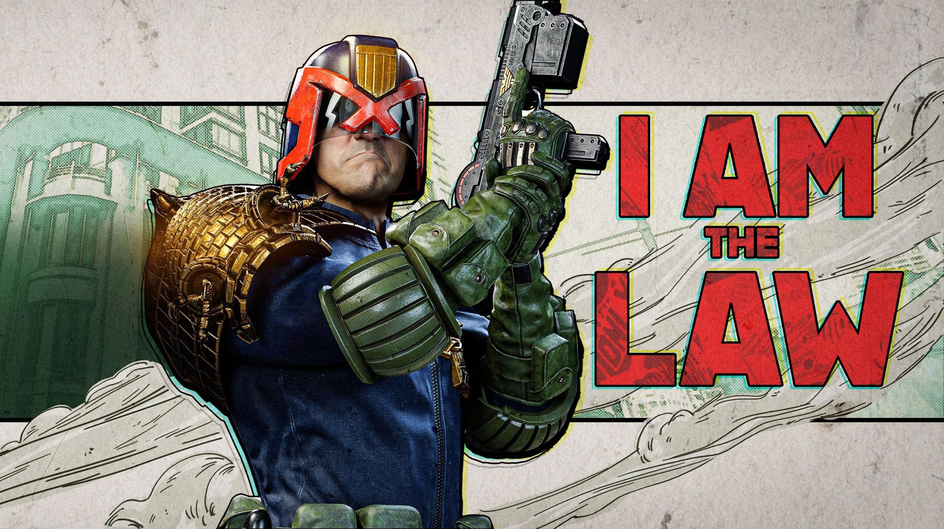Judge Dredd artwork