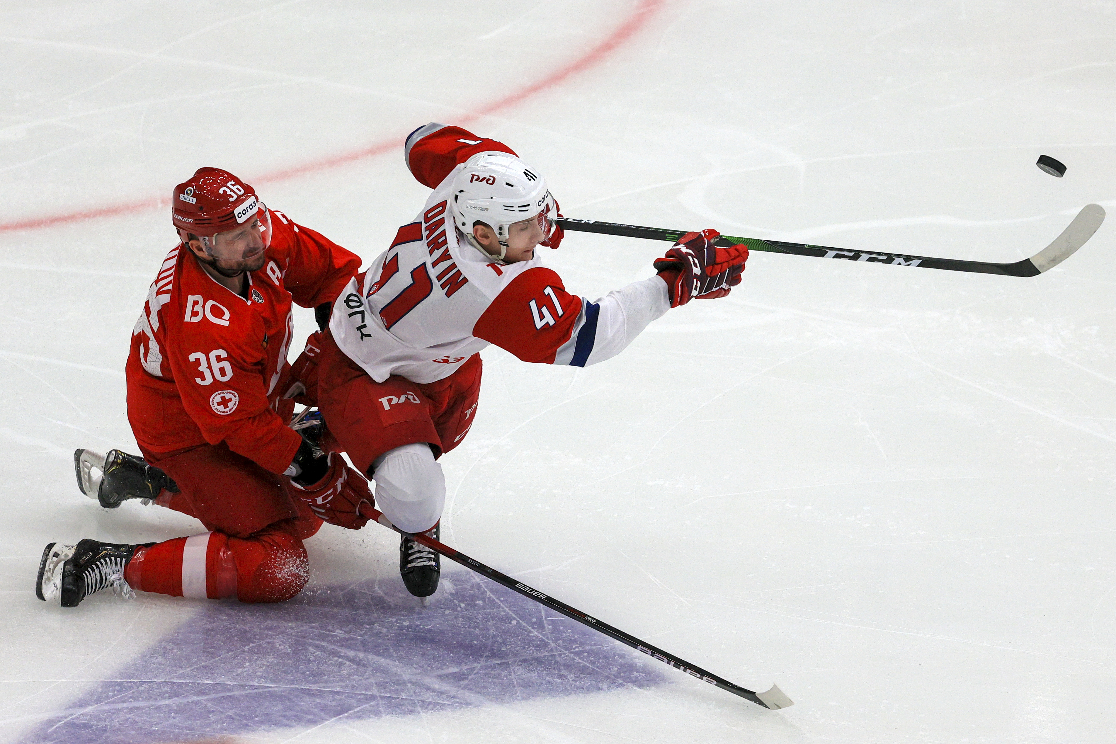 Kontinental Hockey League: Spartak Moscow vs Lokomotiv Yaroslavl