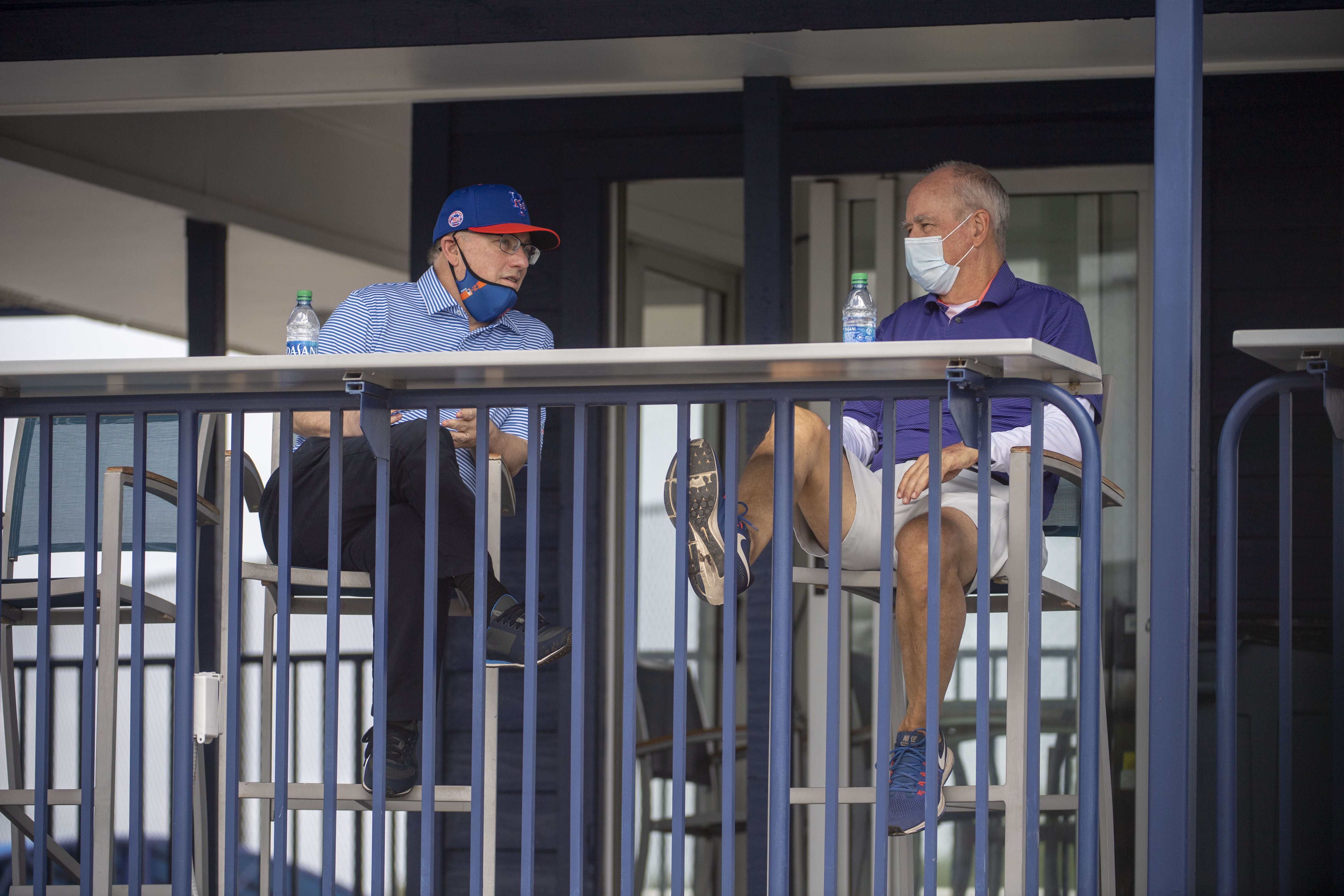 NY Mets owner Steve Cohen and manager Sandy Alderson