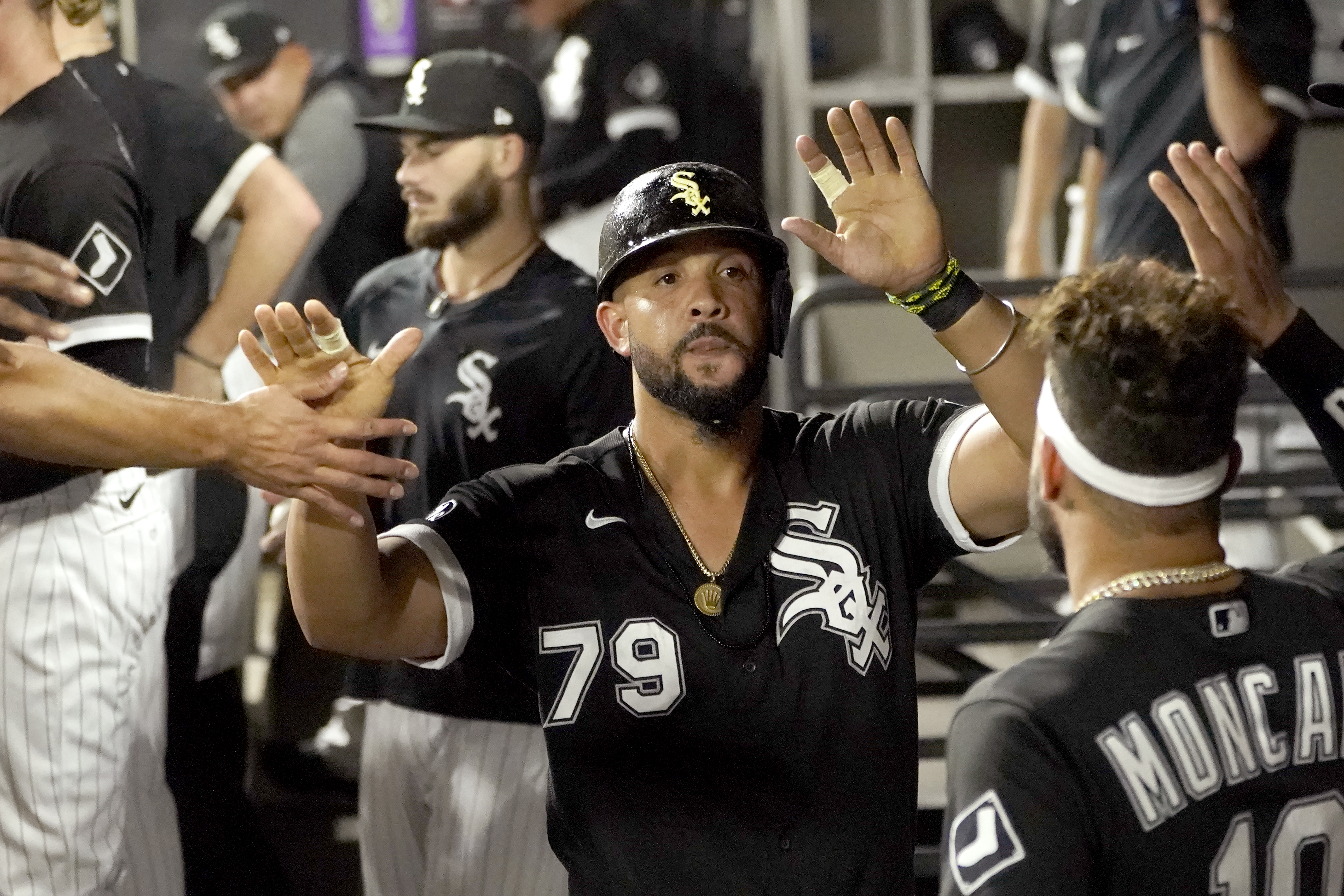 White Sox first baseman José Abreu was named American League Player of the Month for August on Thursday, his fourth career monthly honor.