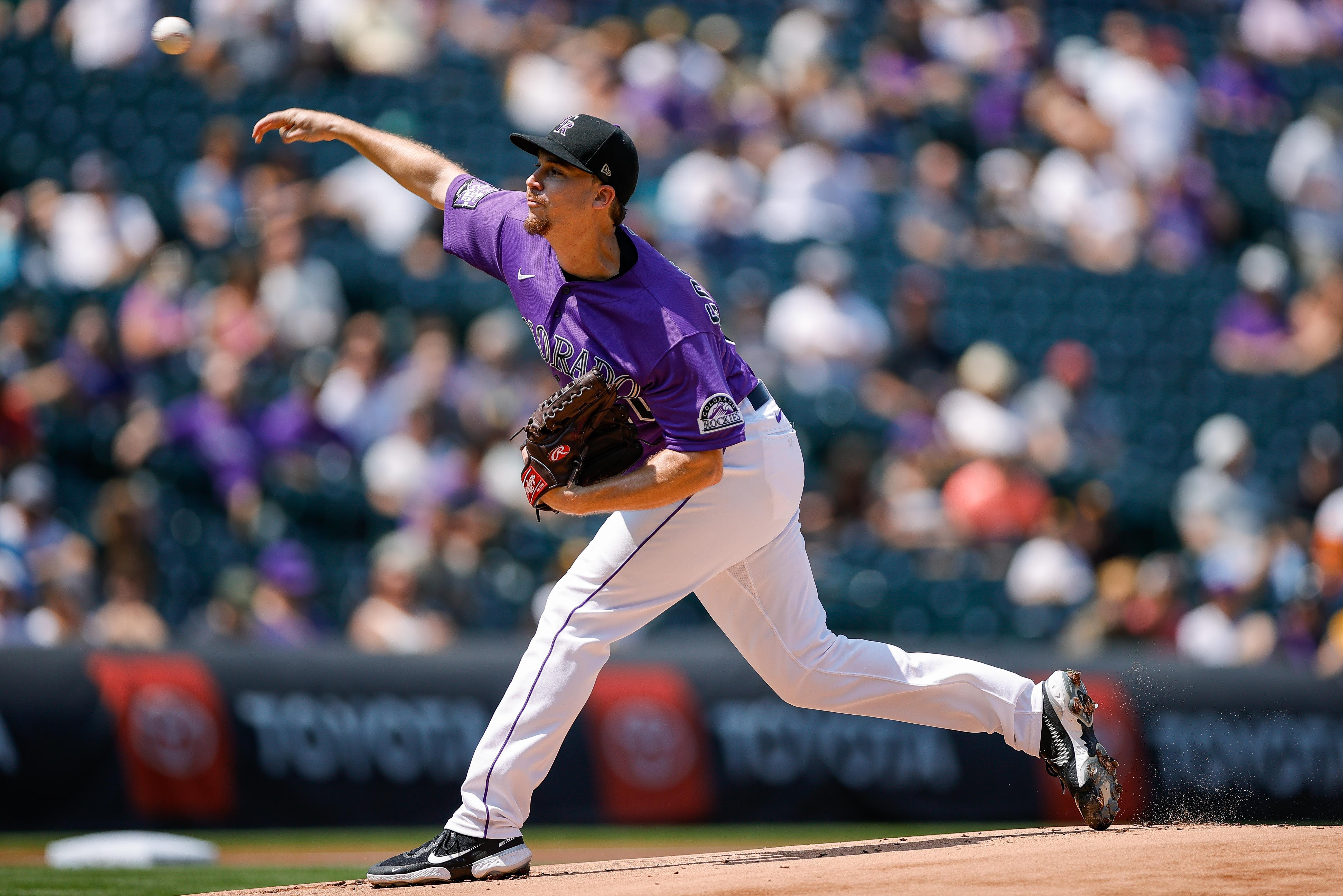 MLB: San Diego Padres at Colorado Rockies