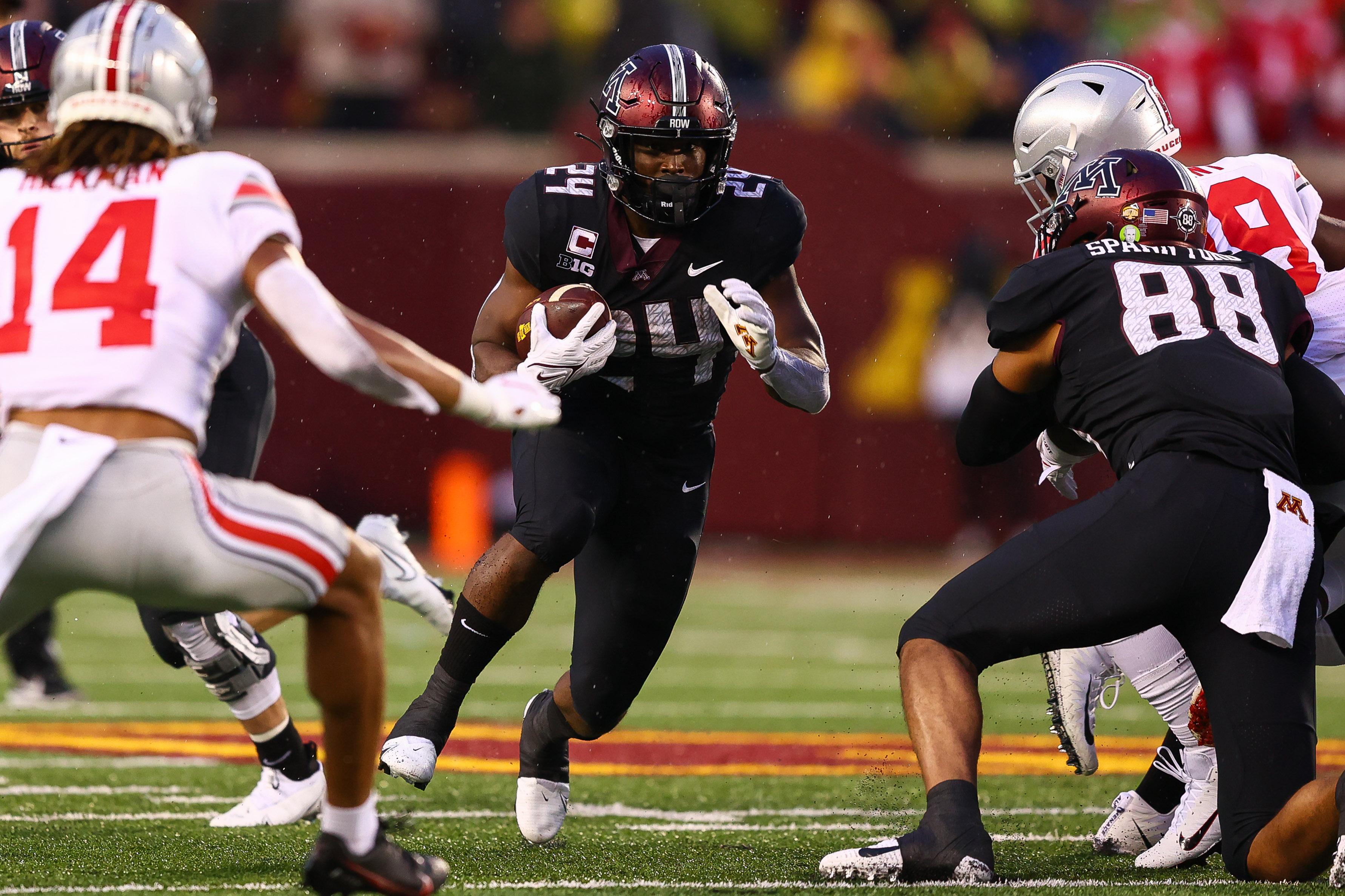 NCAA Football: Ohio State at Minnesota
