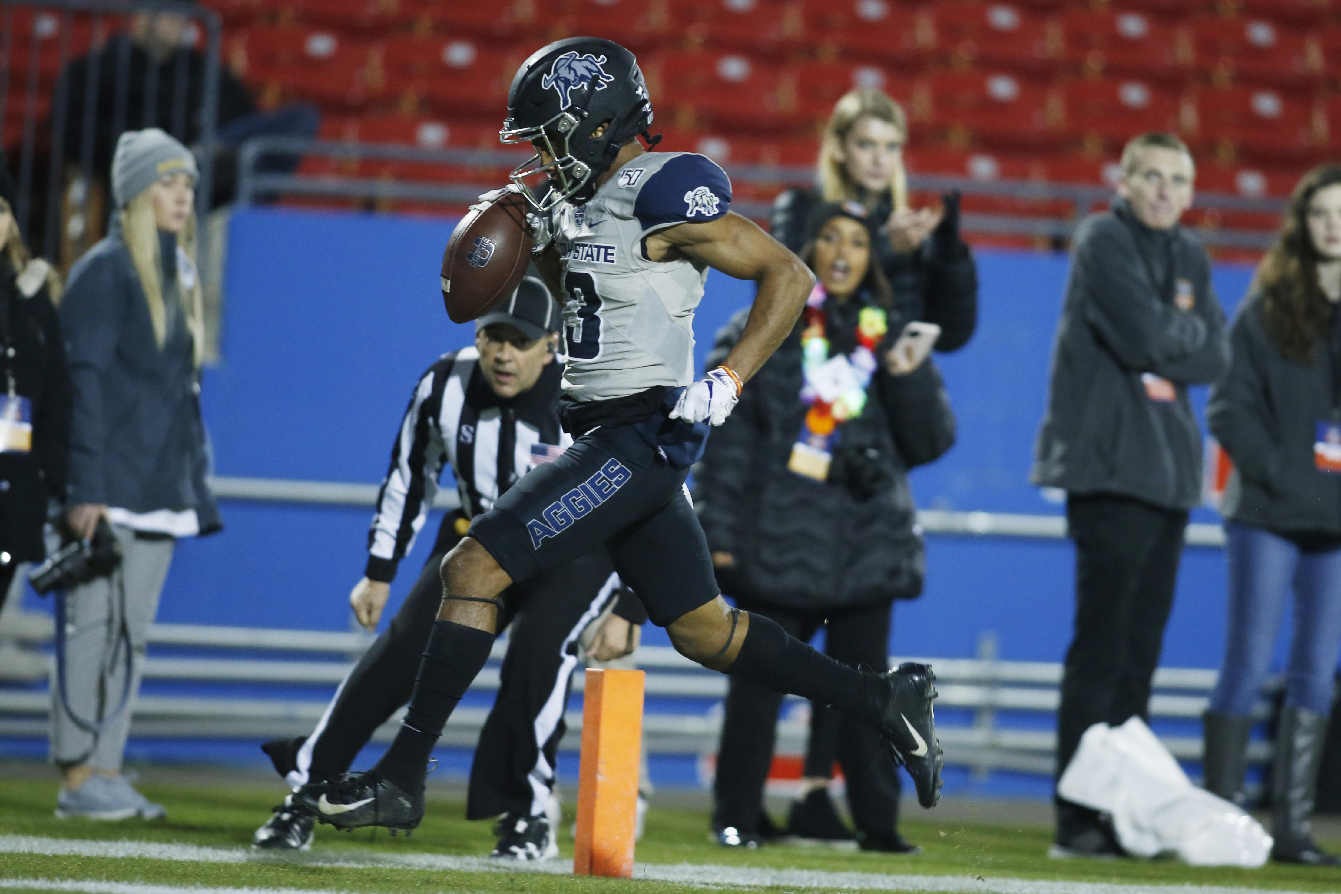 Washington State Cougars Utah State Aggies football preview image