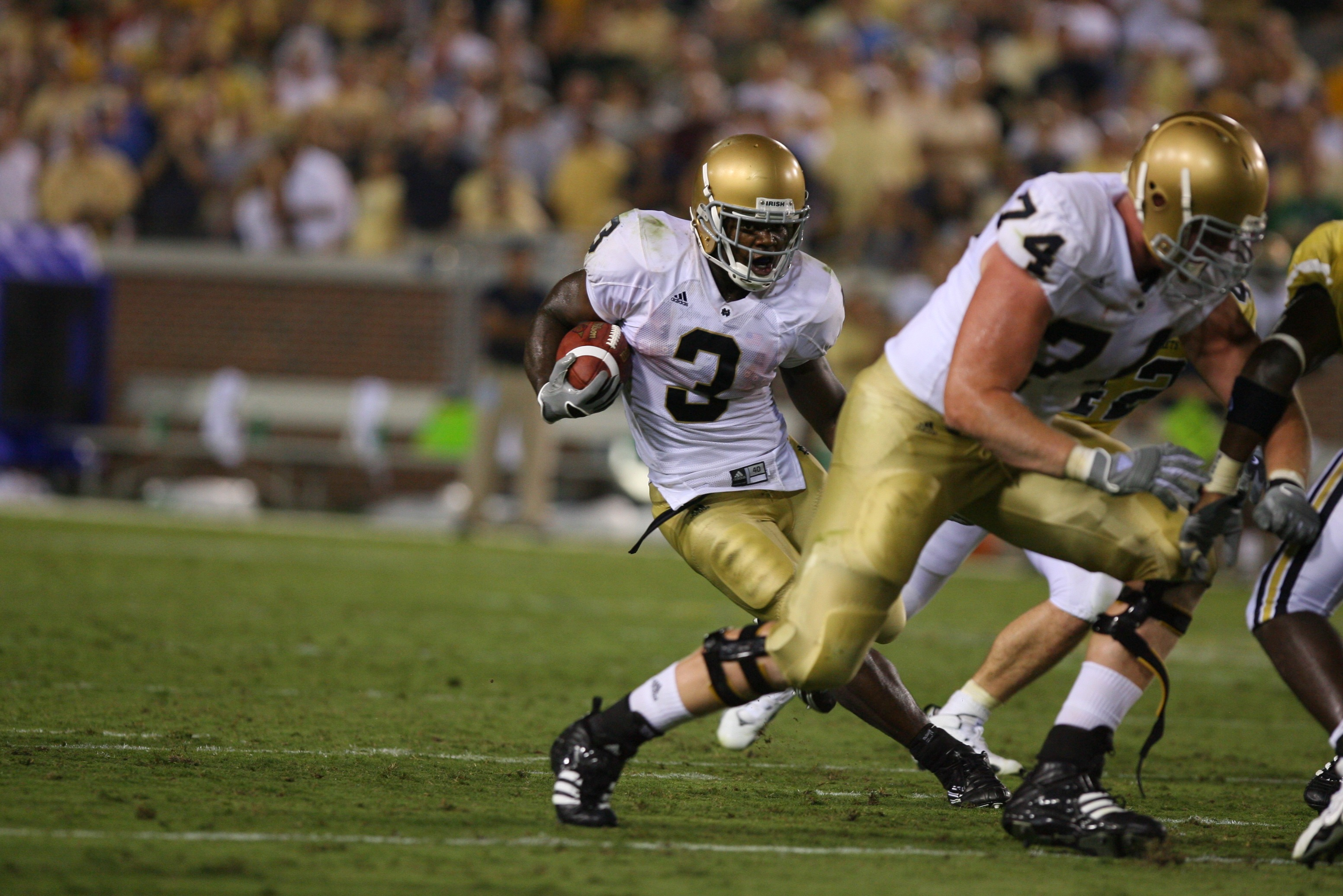Notre Dame Darius Walker...