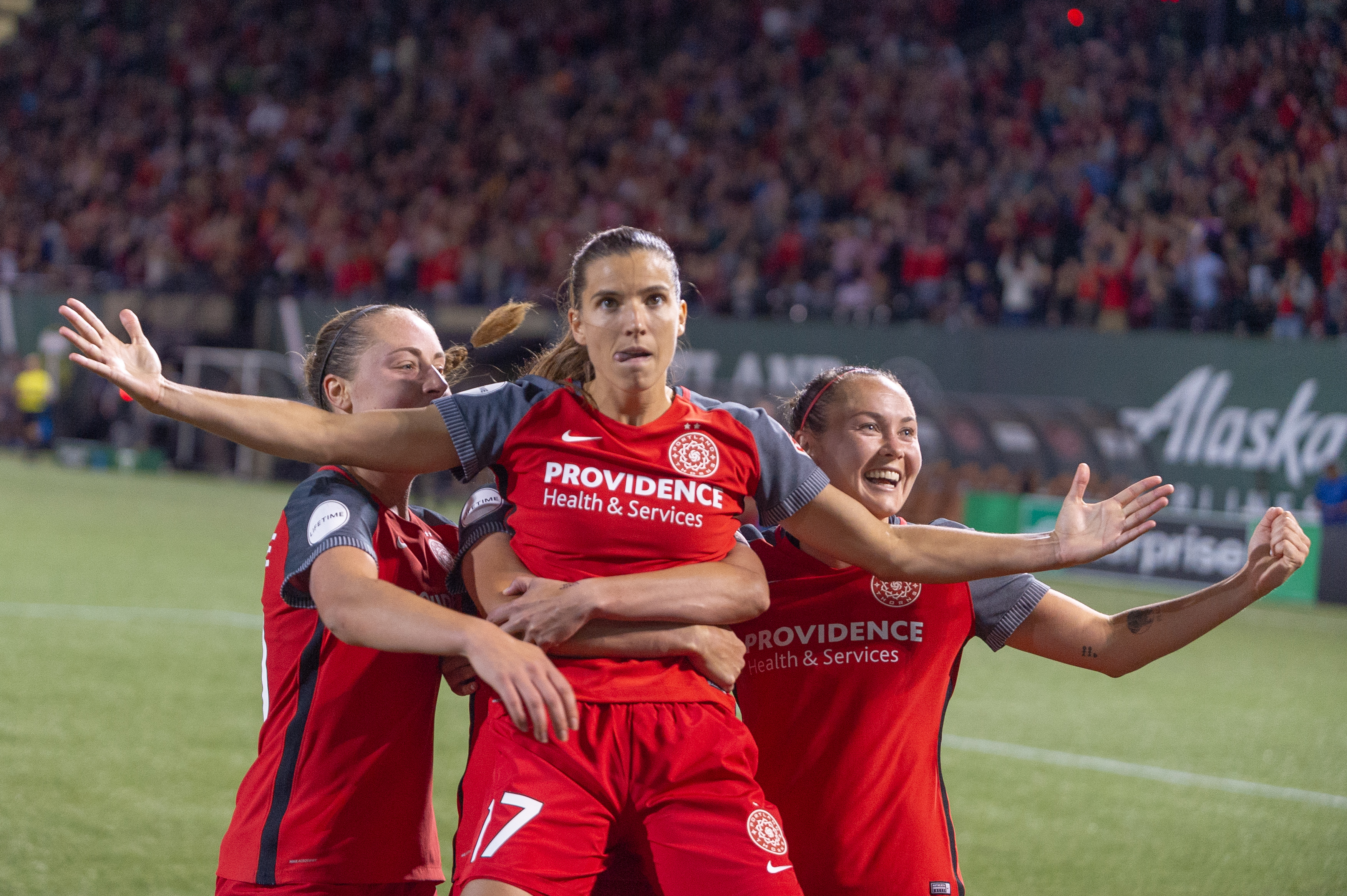 SOCCER: SEP 07 NWSL - Seattle Reign at Portland Thorns