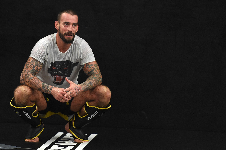 UFC's CM Punk Milwaukee Gym Day