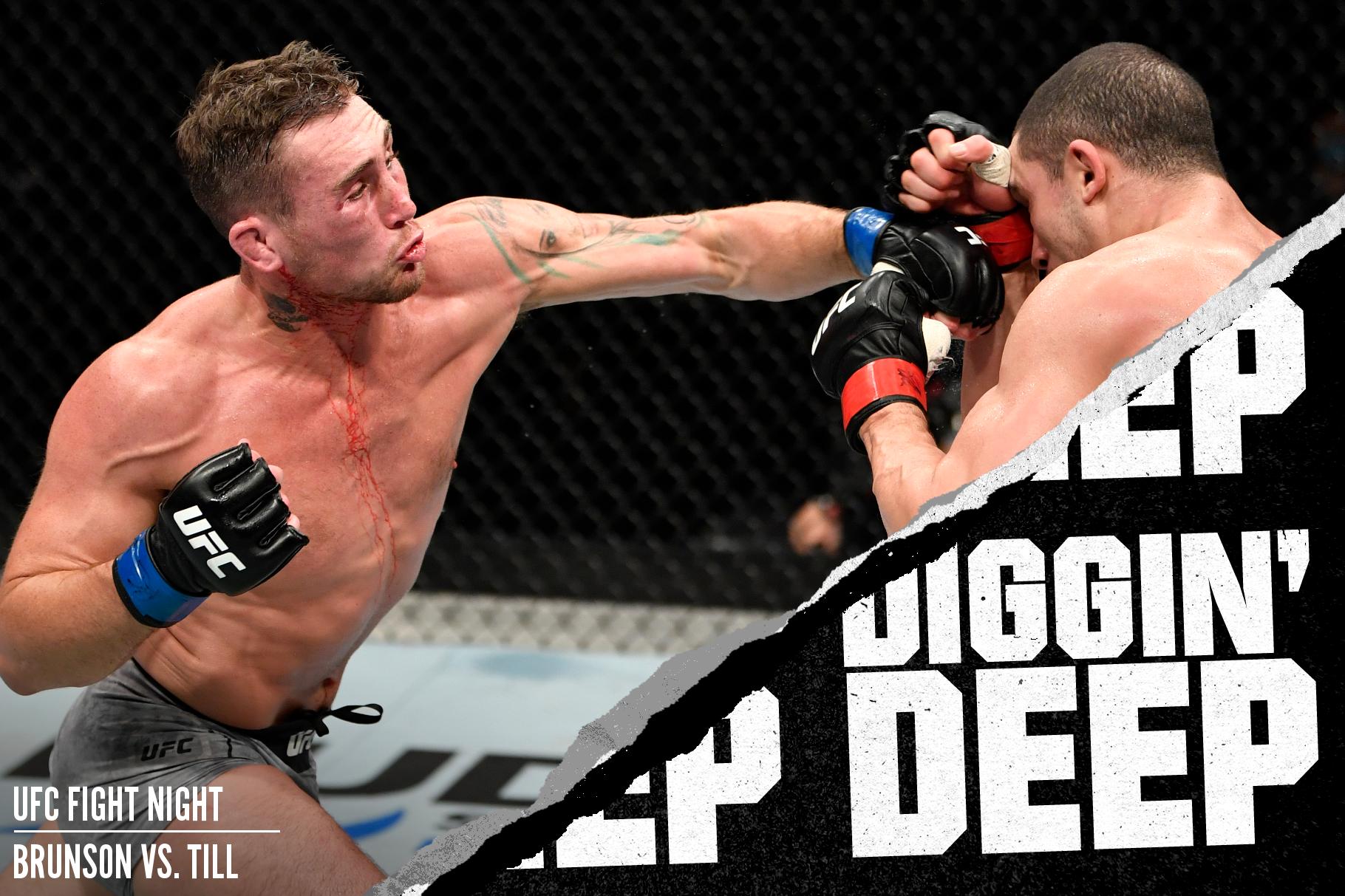 Darren Till fighting Robert Whittaker at UFC Fight Island 3