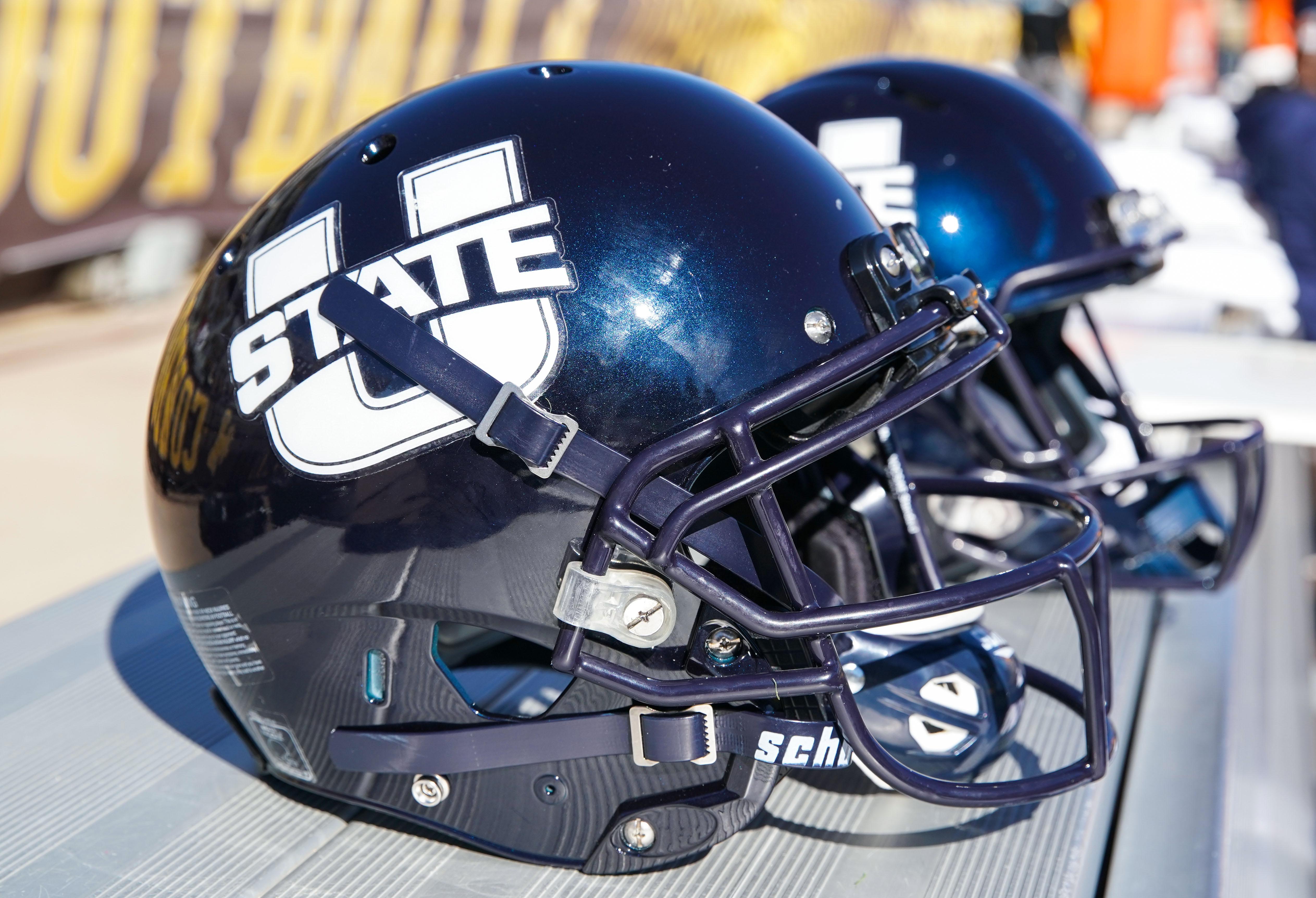 NCAA Football: Utah State at Wyoming