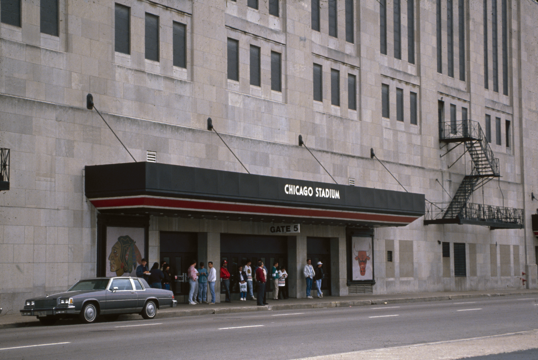 Chicago Stadium, 1989