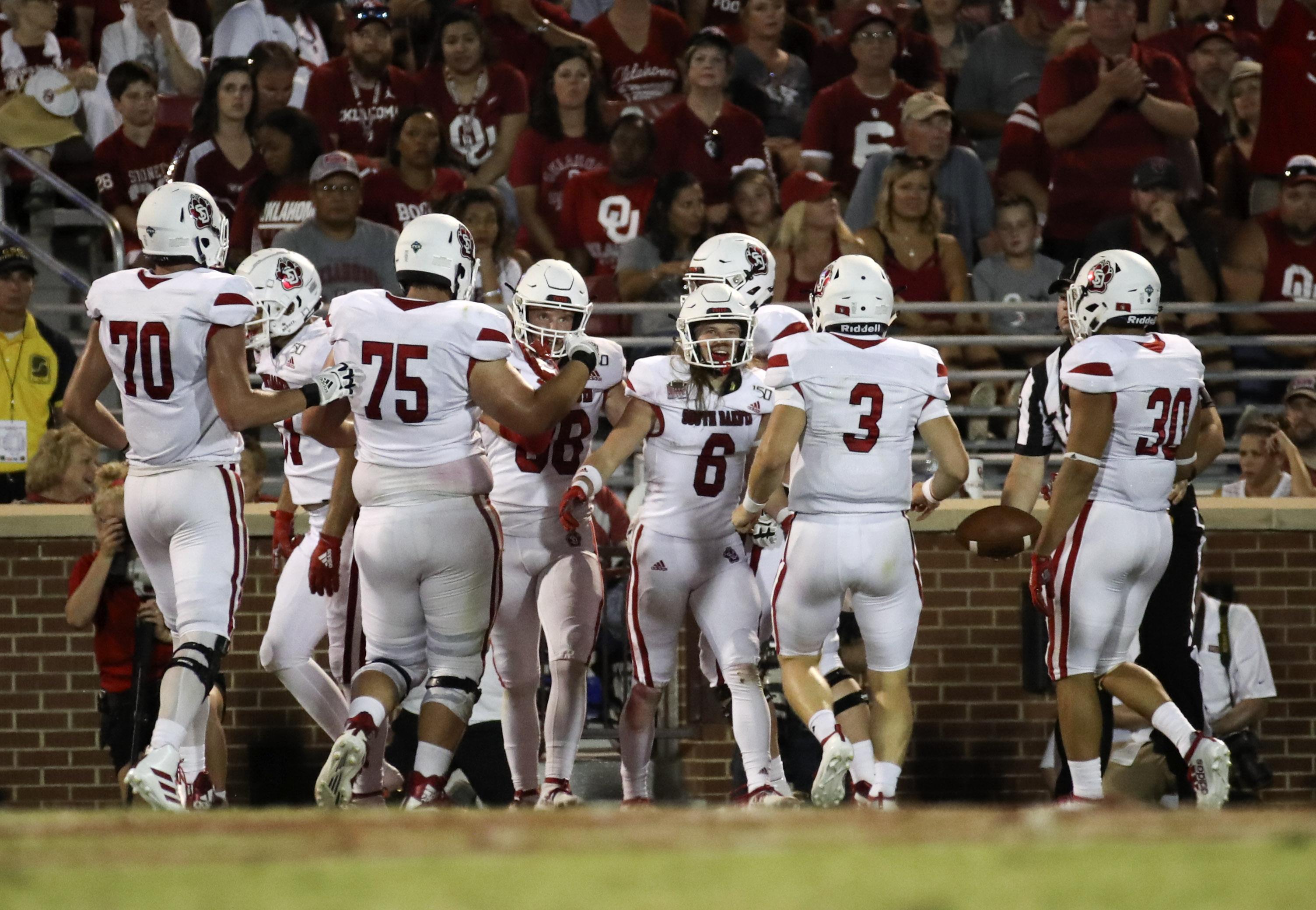 NCAA Football: South Dakota at Oklahoma