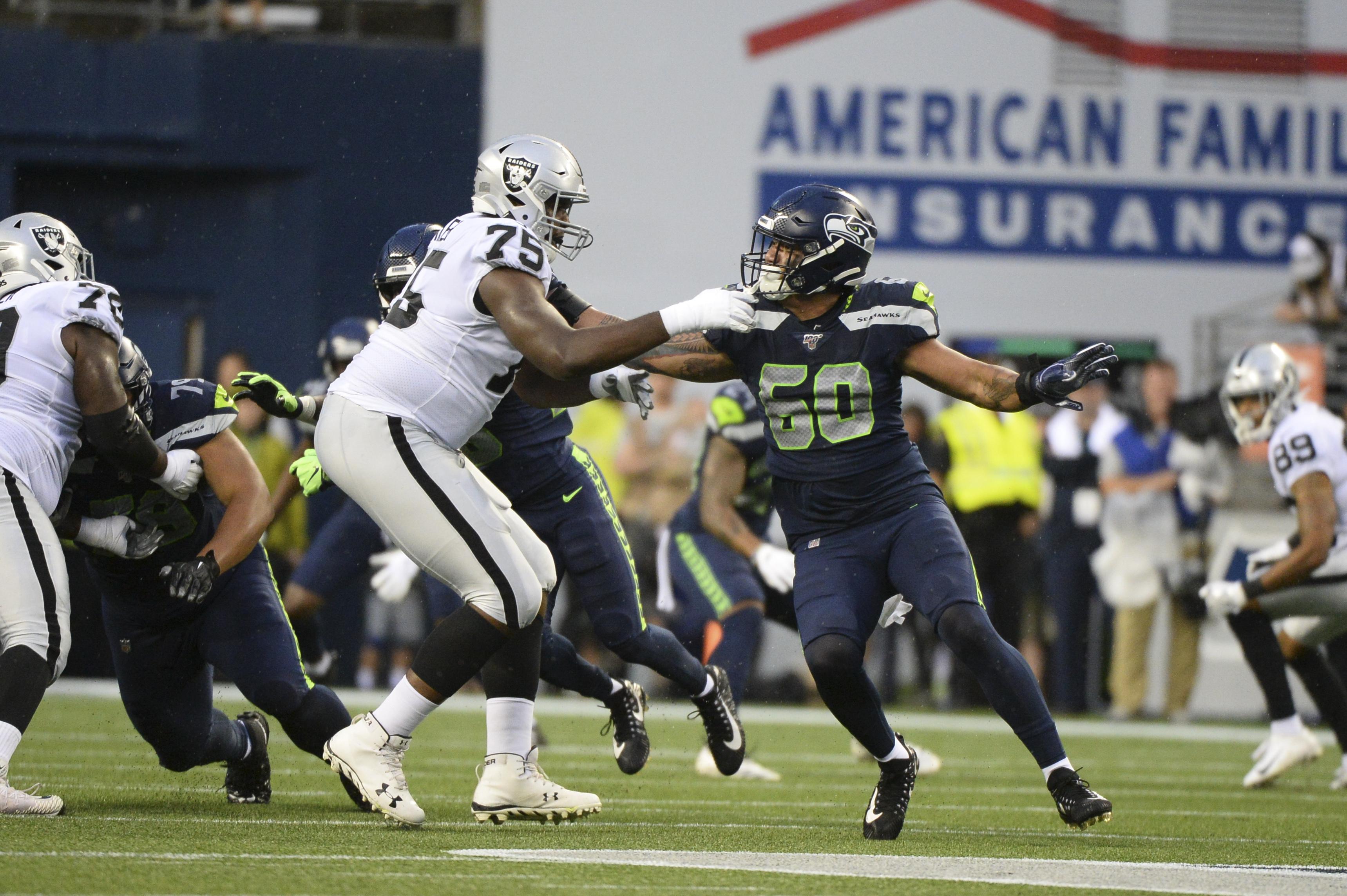 NFL: AUG 29 Preseason - Raiders at Seahawks