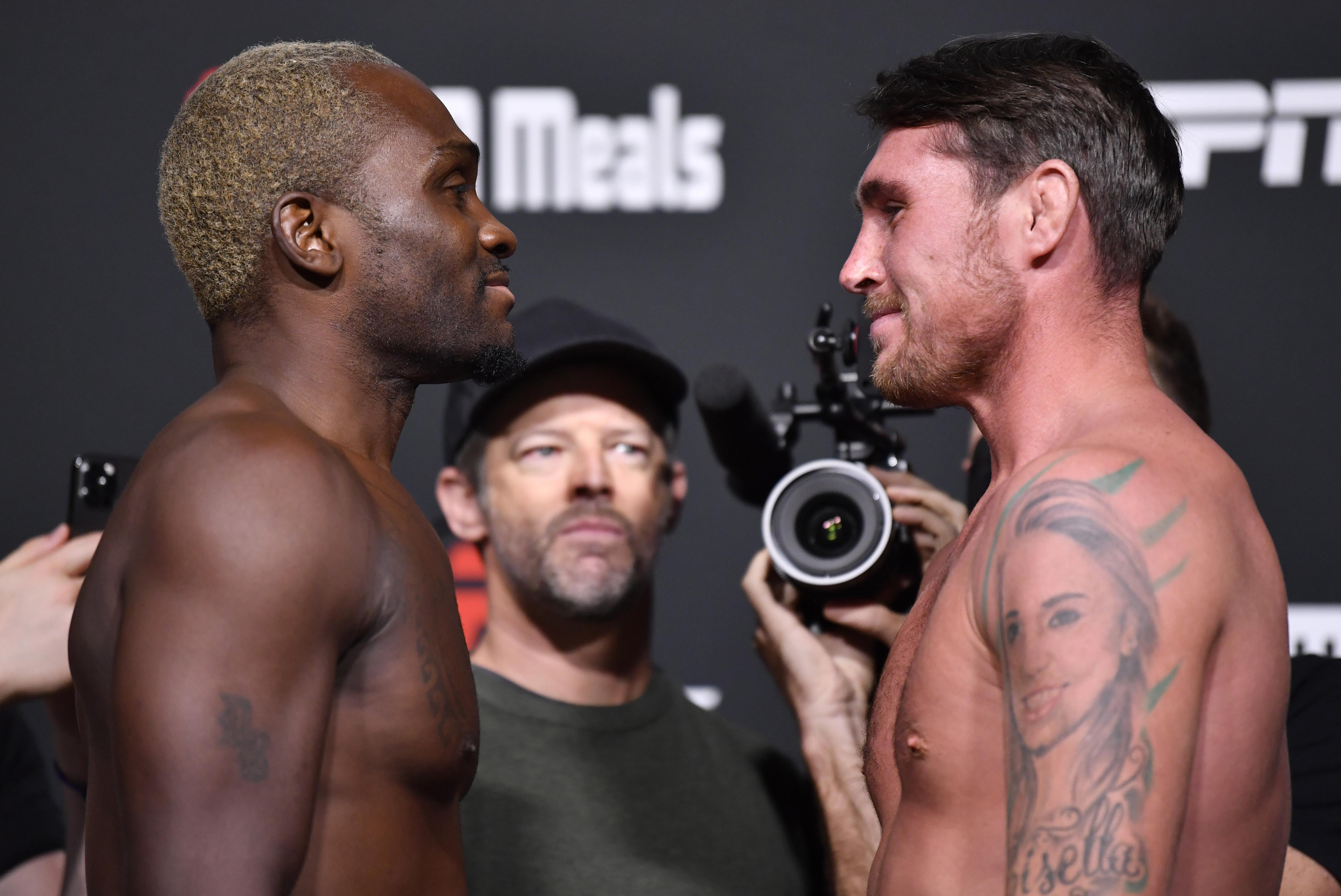 UFC Fight Night: Brunson v Till Weigh-in