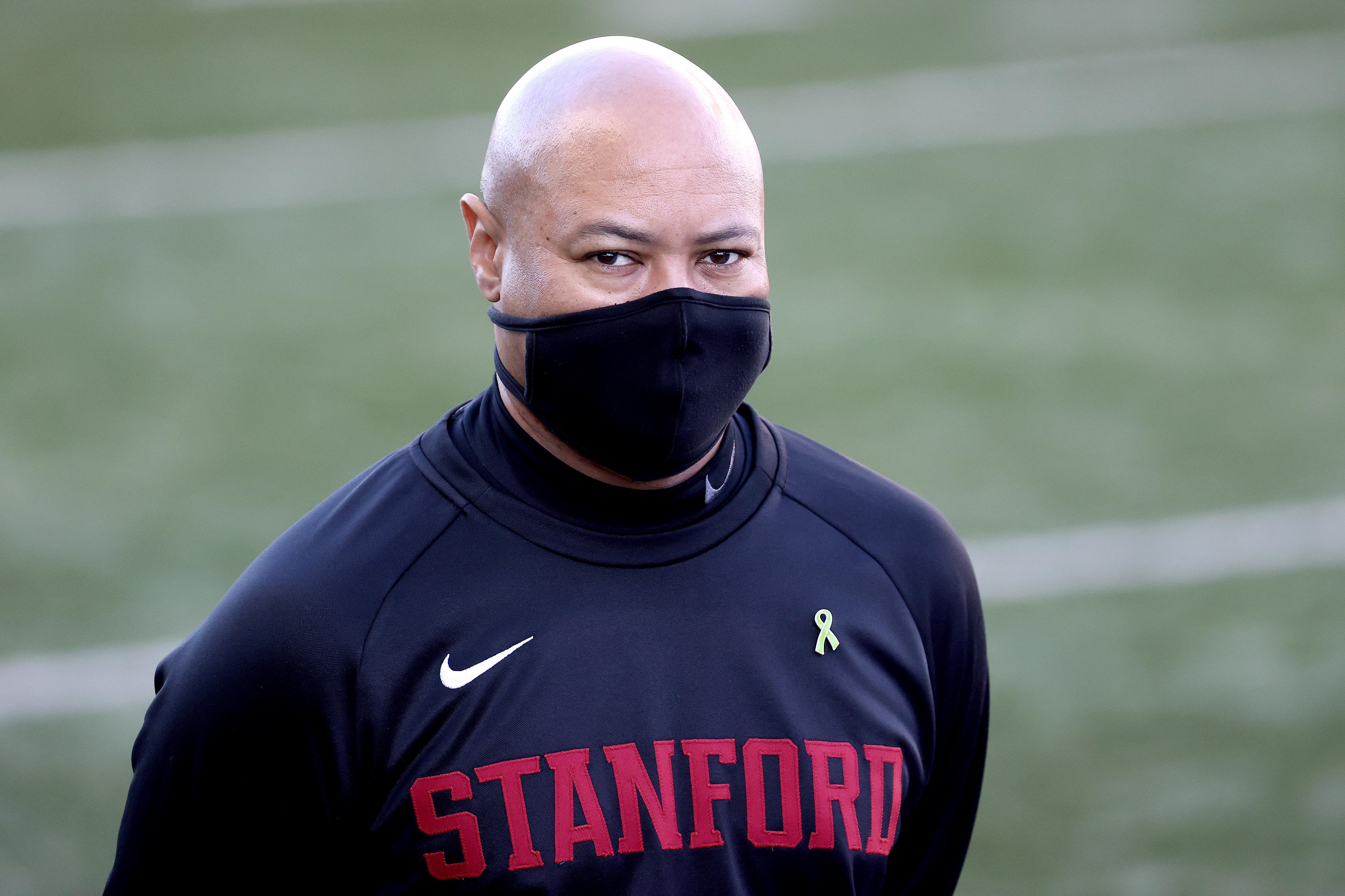 That mask isn't muzzling David Shaw right now.
