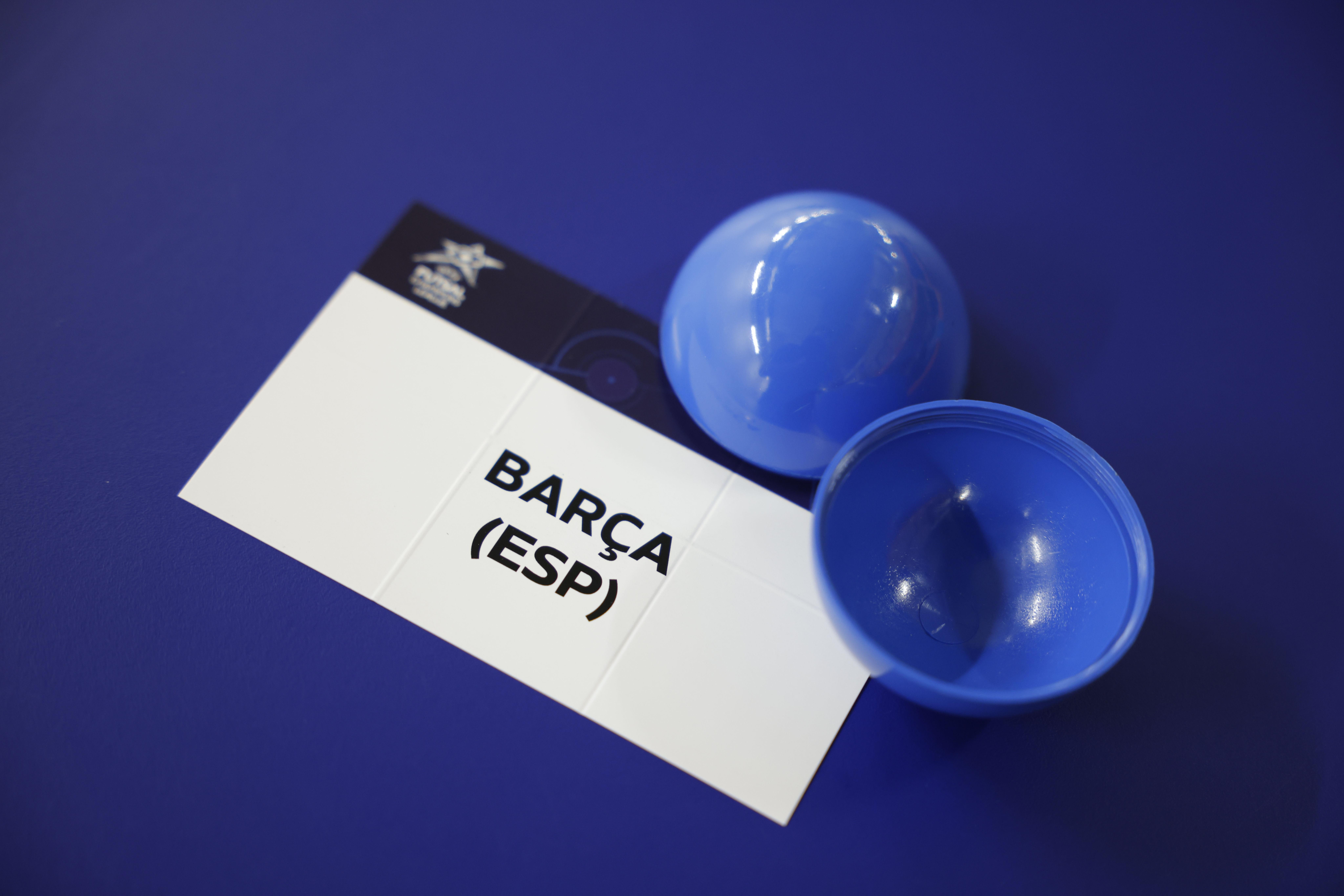 UEFA Futsal Champions League 2021/22 Main Round Draw