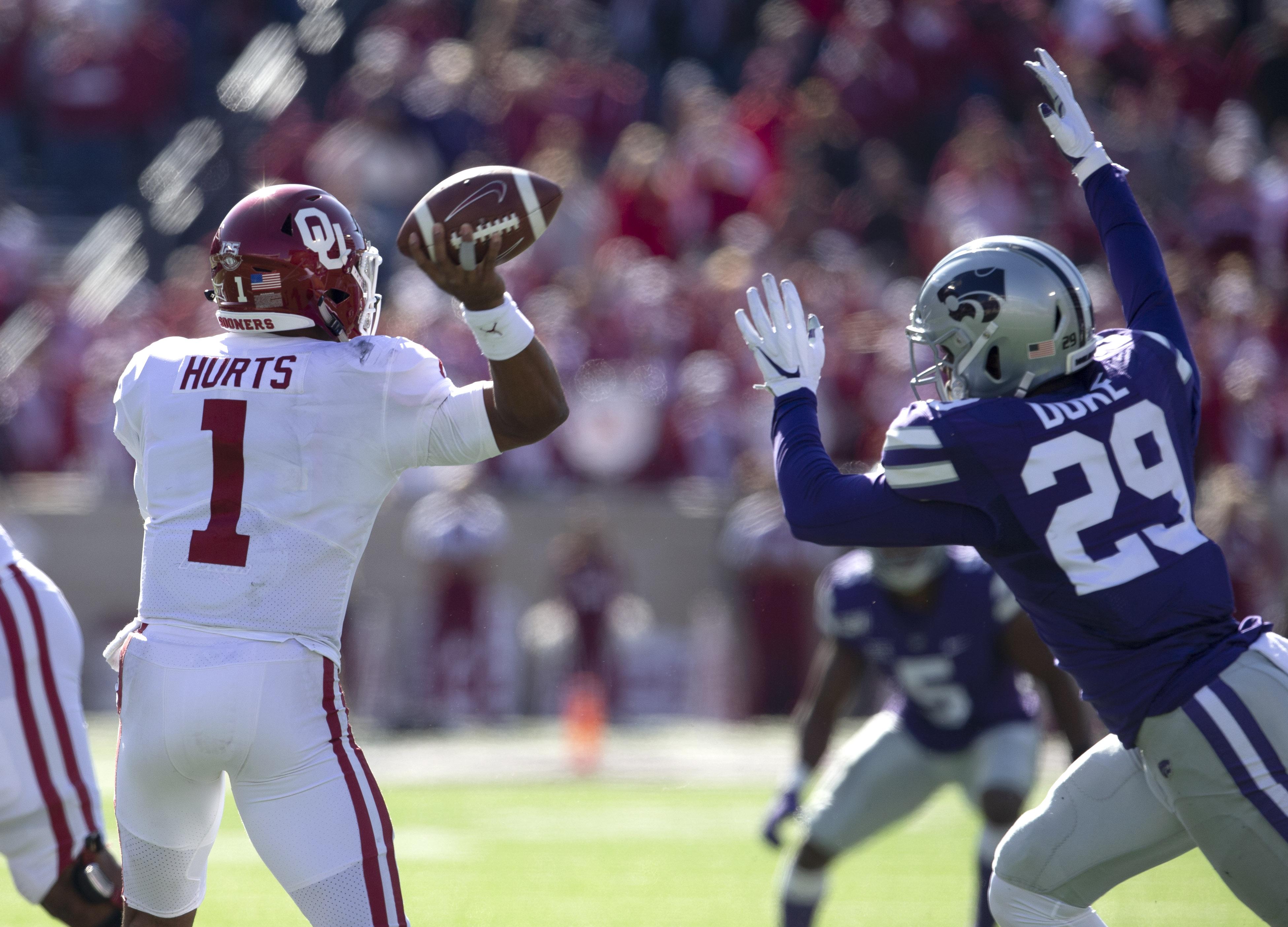 NCAA Football: Oklahoma at Kansas State