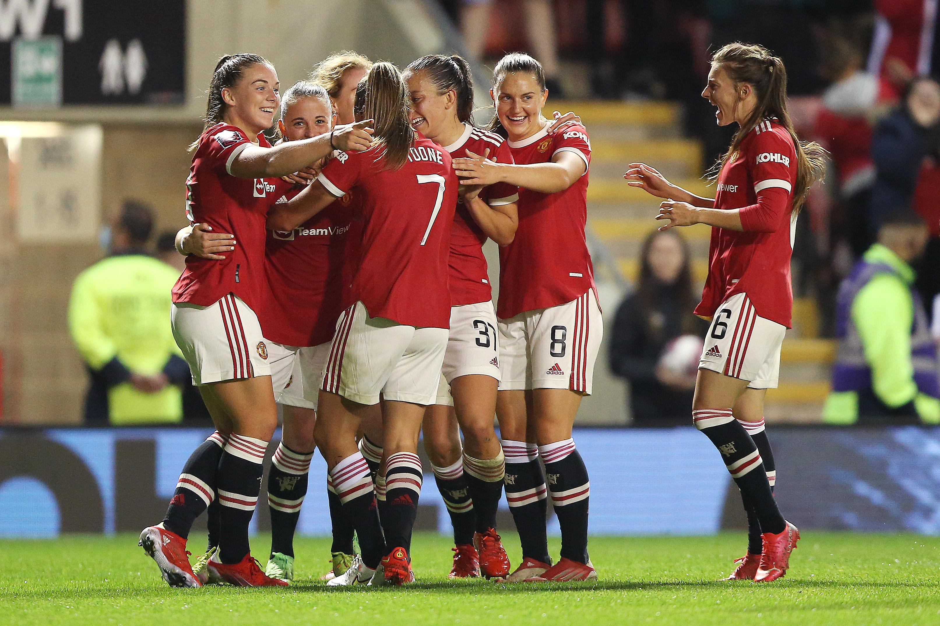 Manchester United Women v Reading Women - Barclays FA Women's Super League