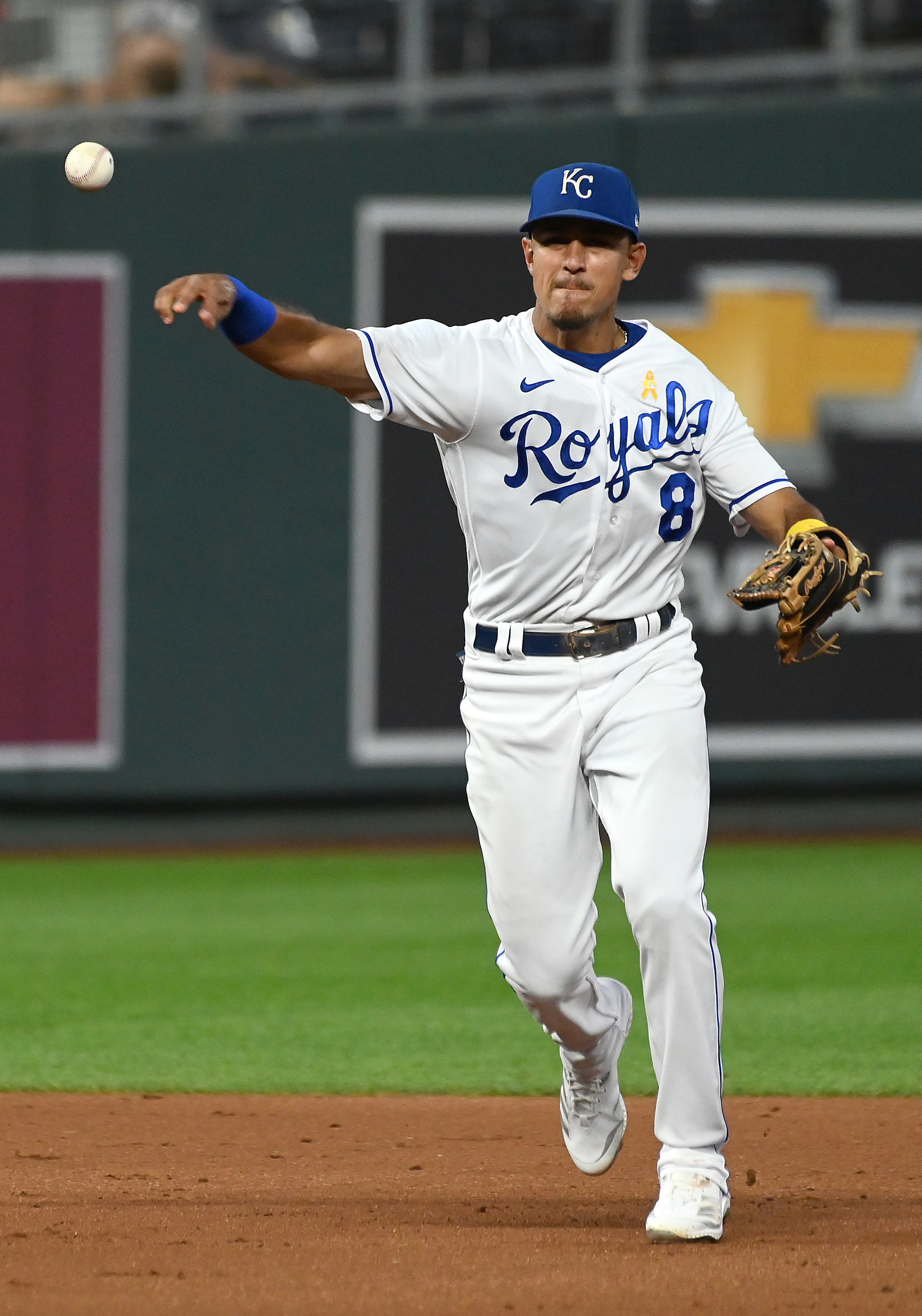 MLB: SEP 01 Indians at Royals