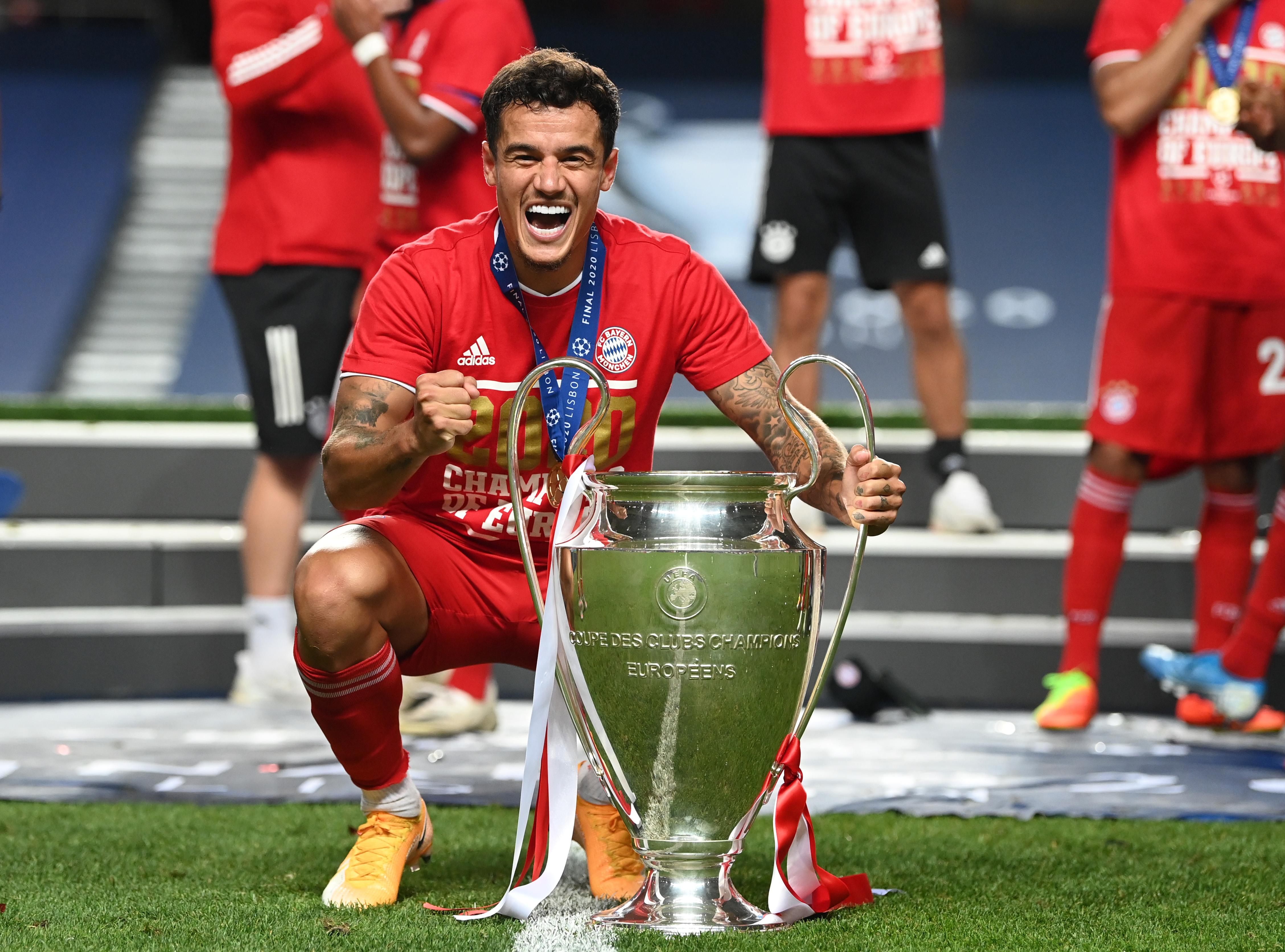 Philippe Coutinho - Bayern Munich - UEFA Champions League