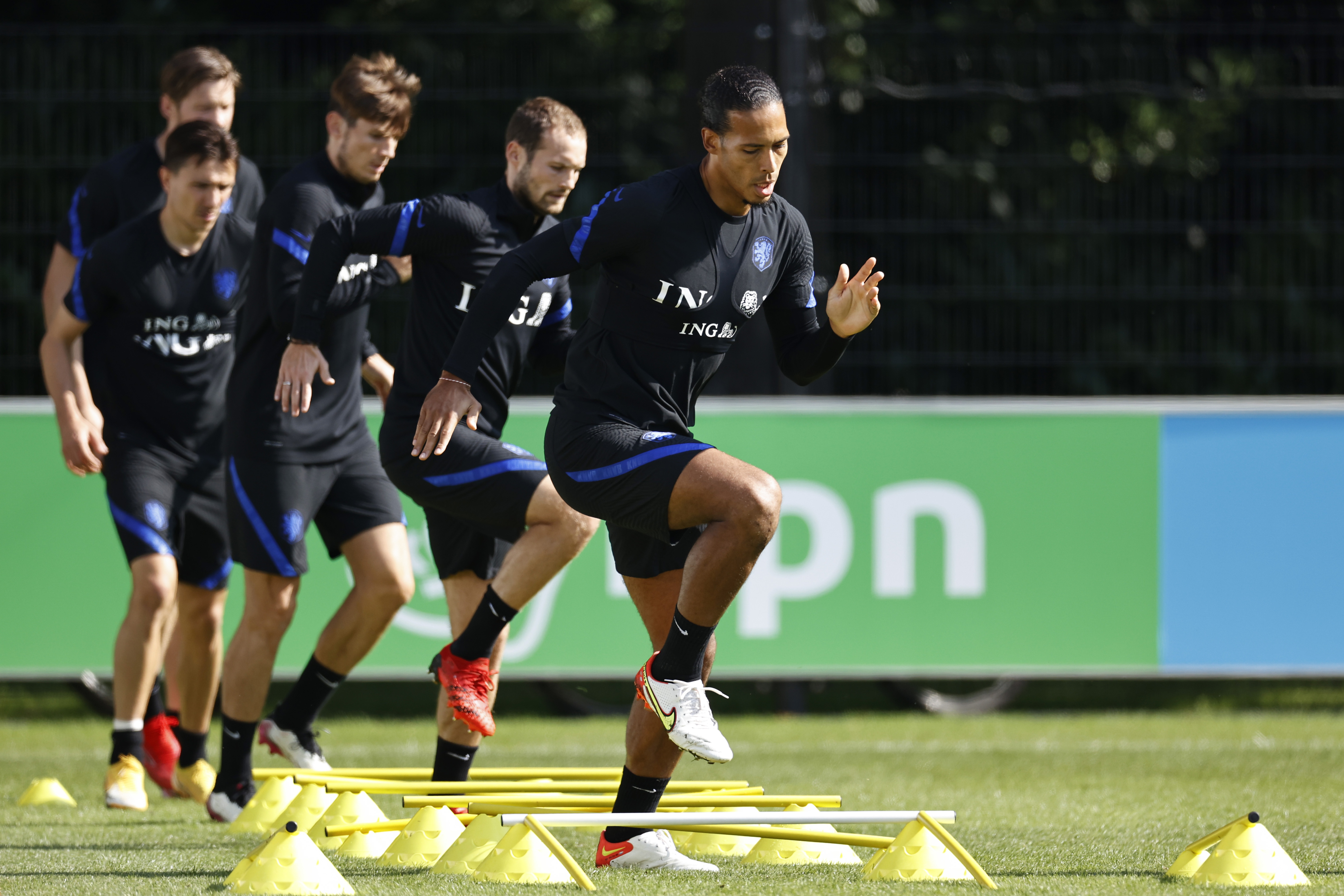 """FIFA World Cup Qualifier""""Training session The Netherlands"""""""