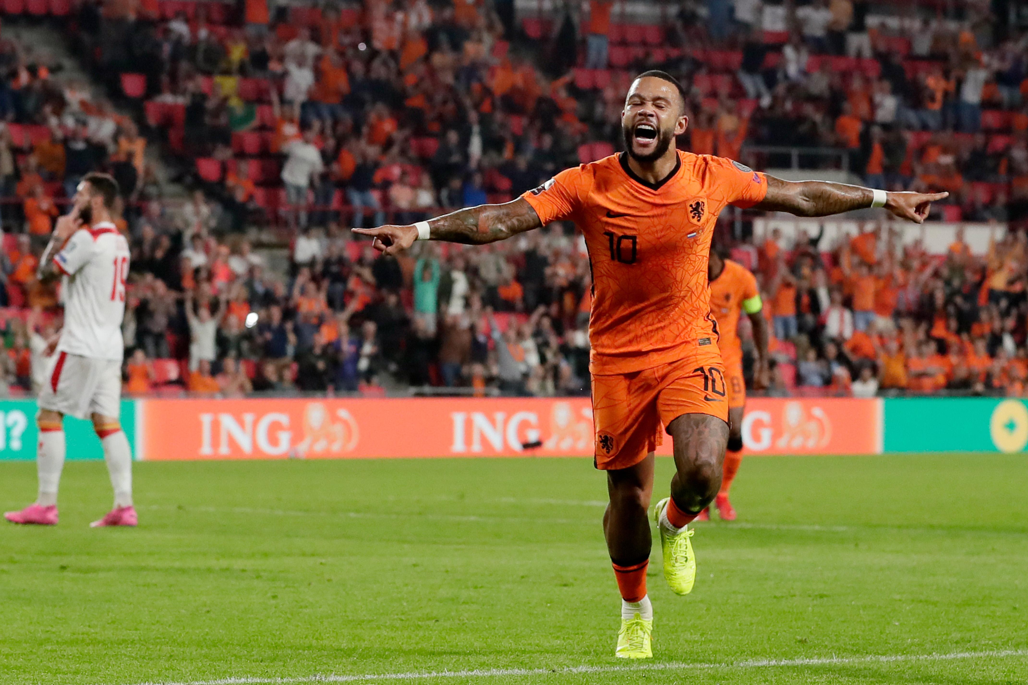 Holland v Montenegro -World Cup Qualifier