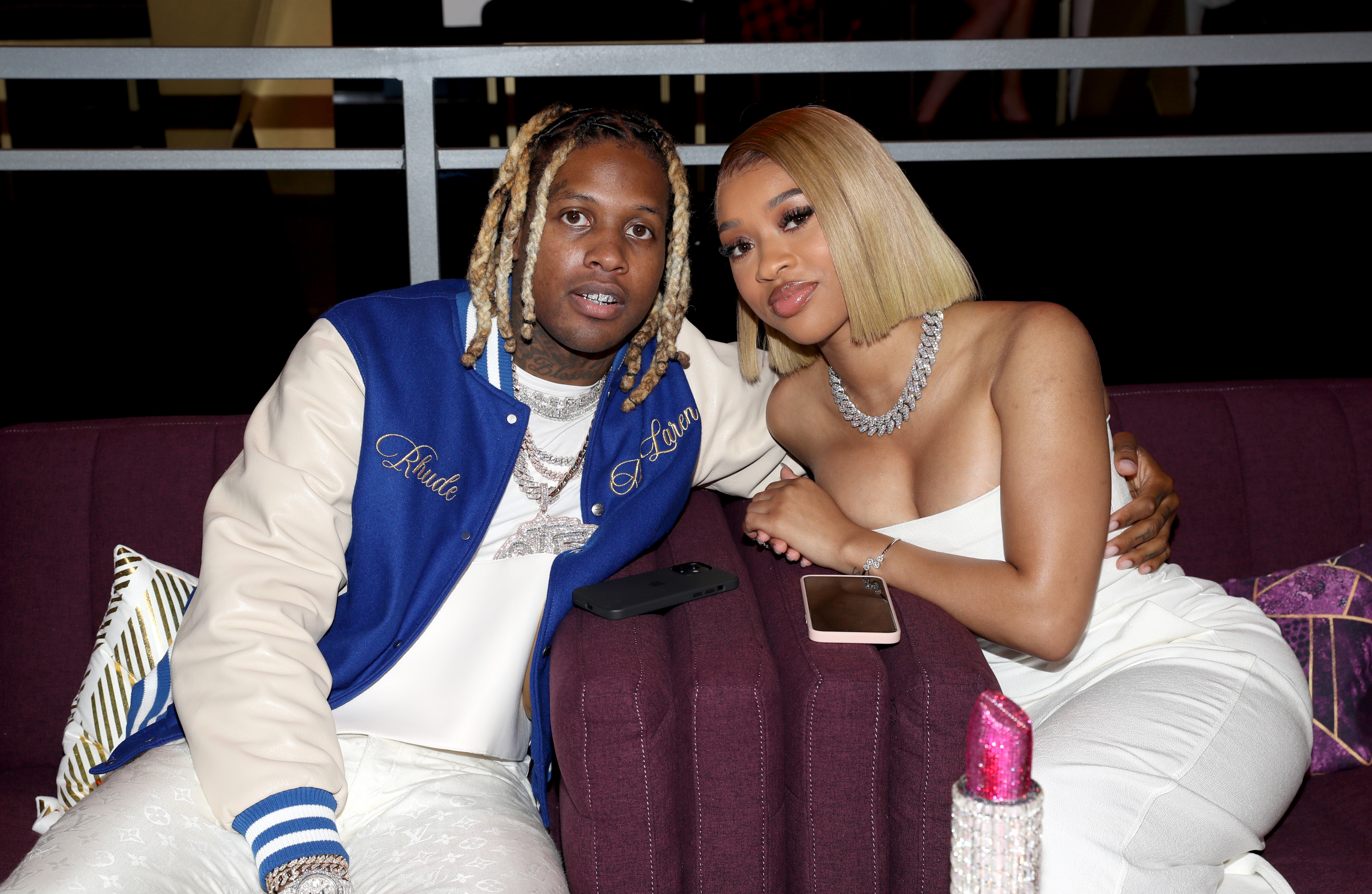 Lil Durk and India Royale