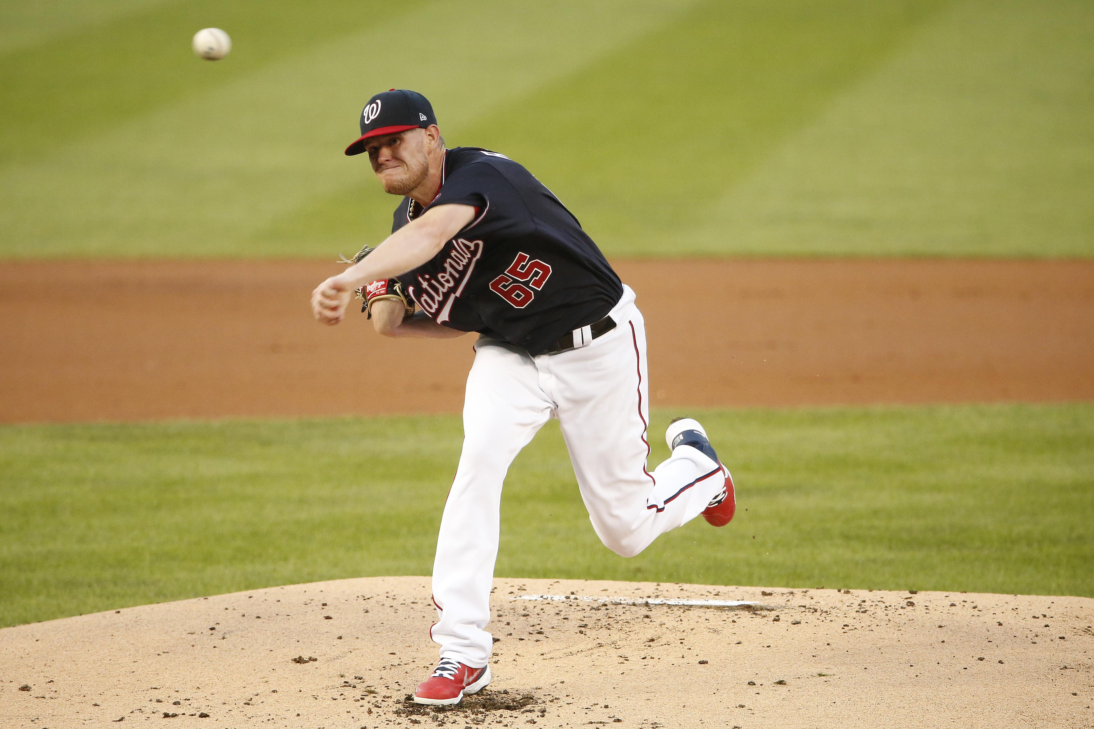 MLB: Game Two-New York Mets at Washington Nationals