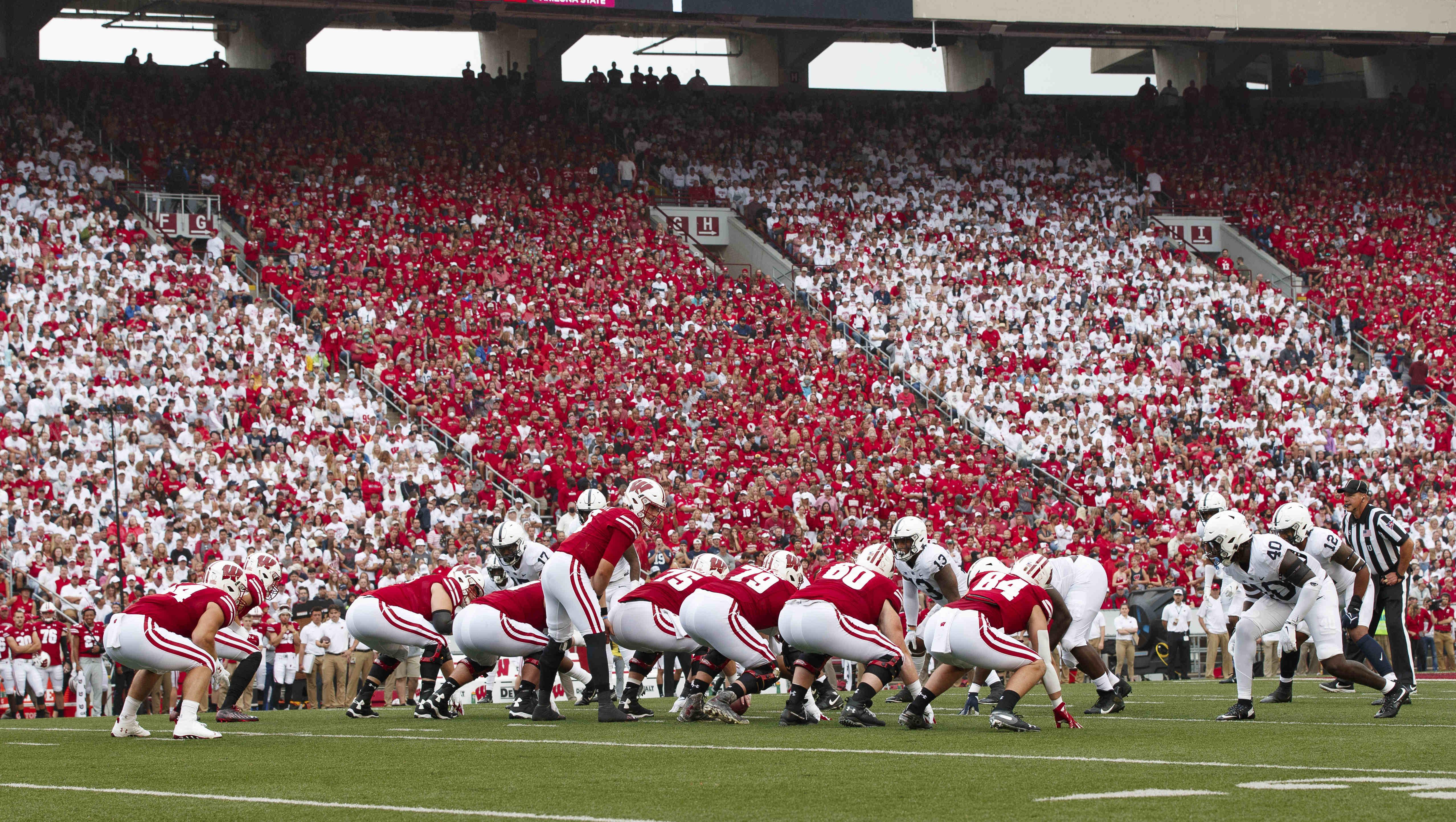 NCAA Football: Penn State at Wisconsin