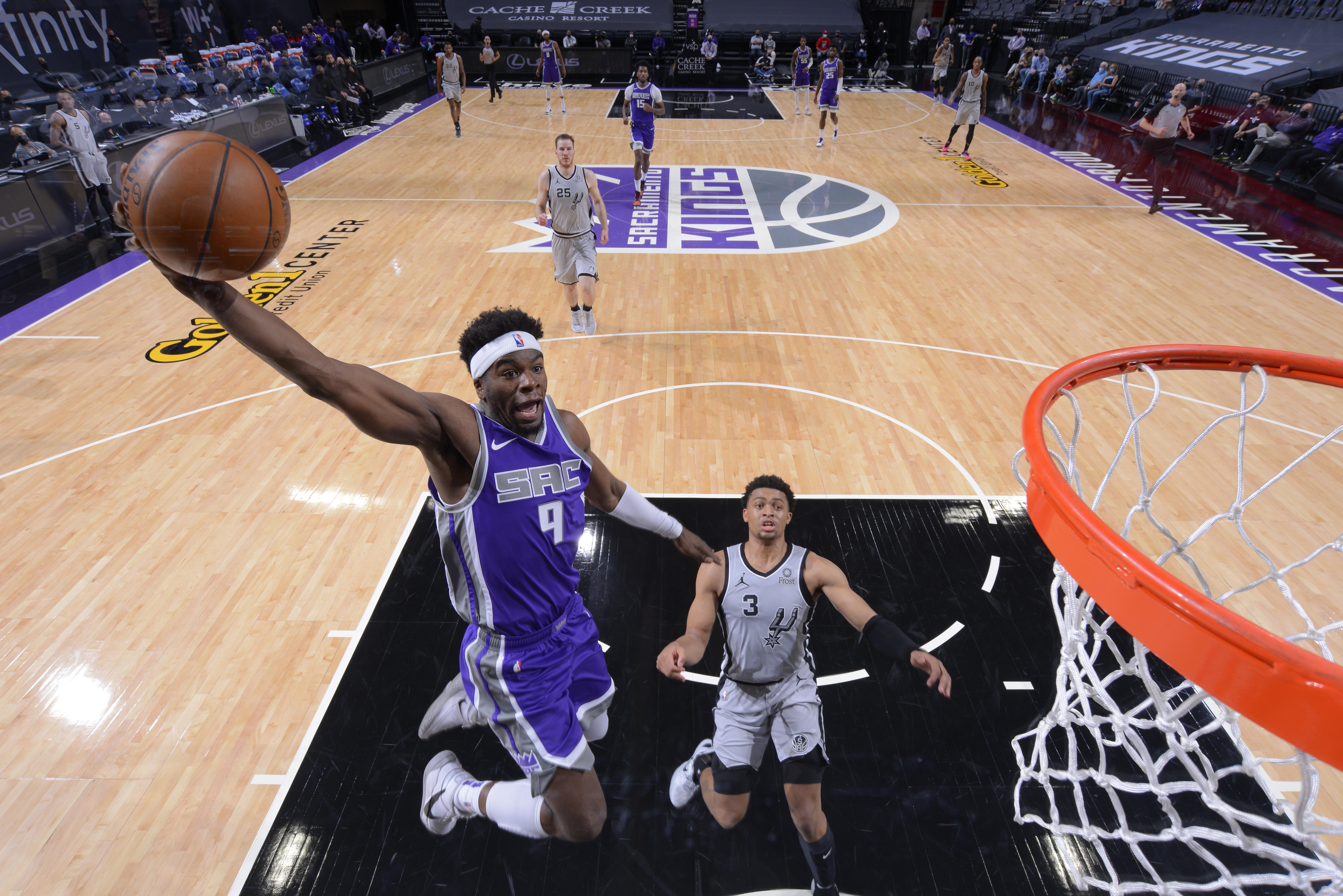 San Antonio Spurs v Sacramento Kings