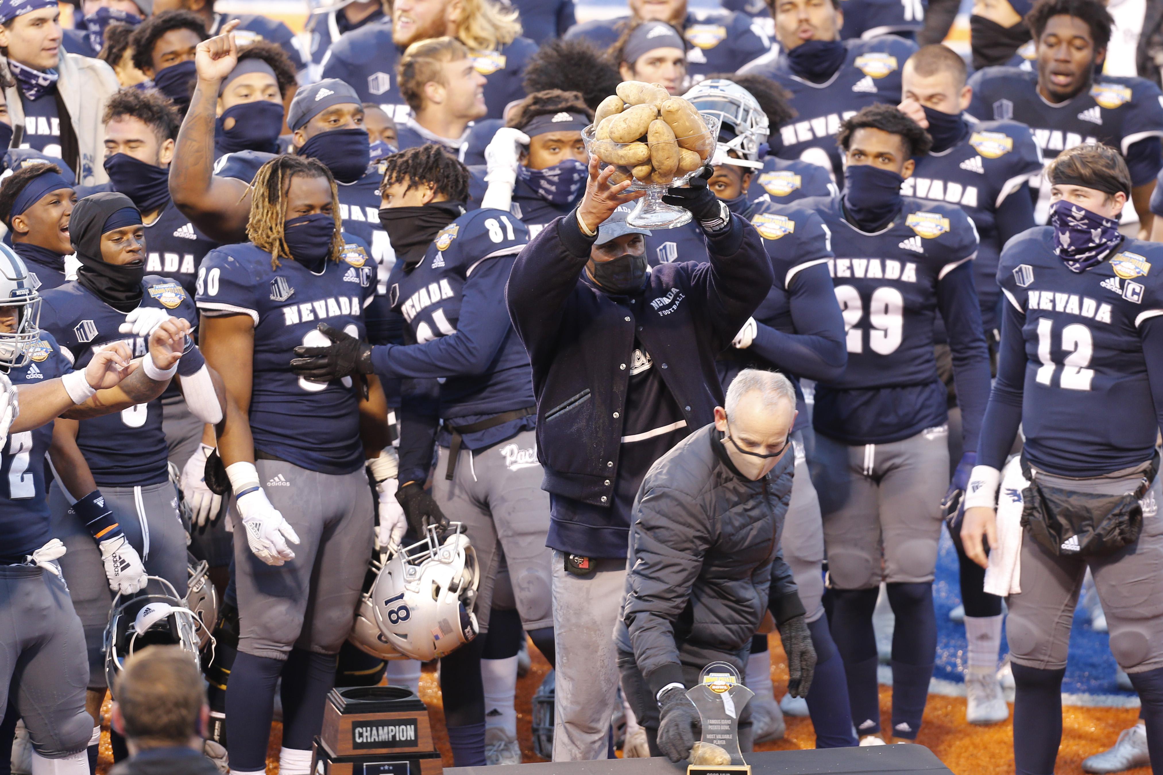 NCAA Football: Famous Idaho Potato Bowl-Tulane at Nevada