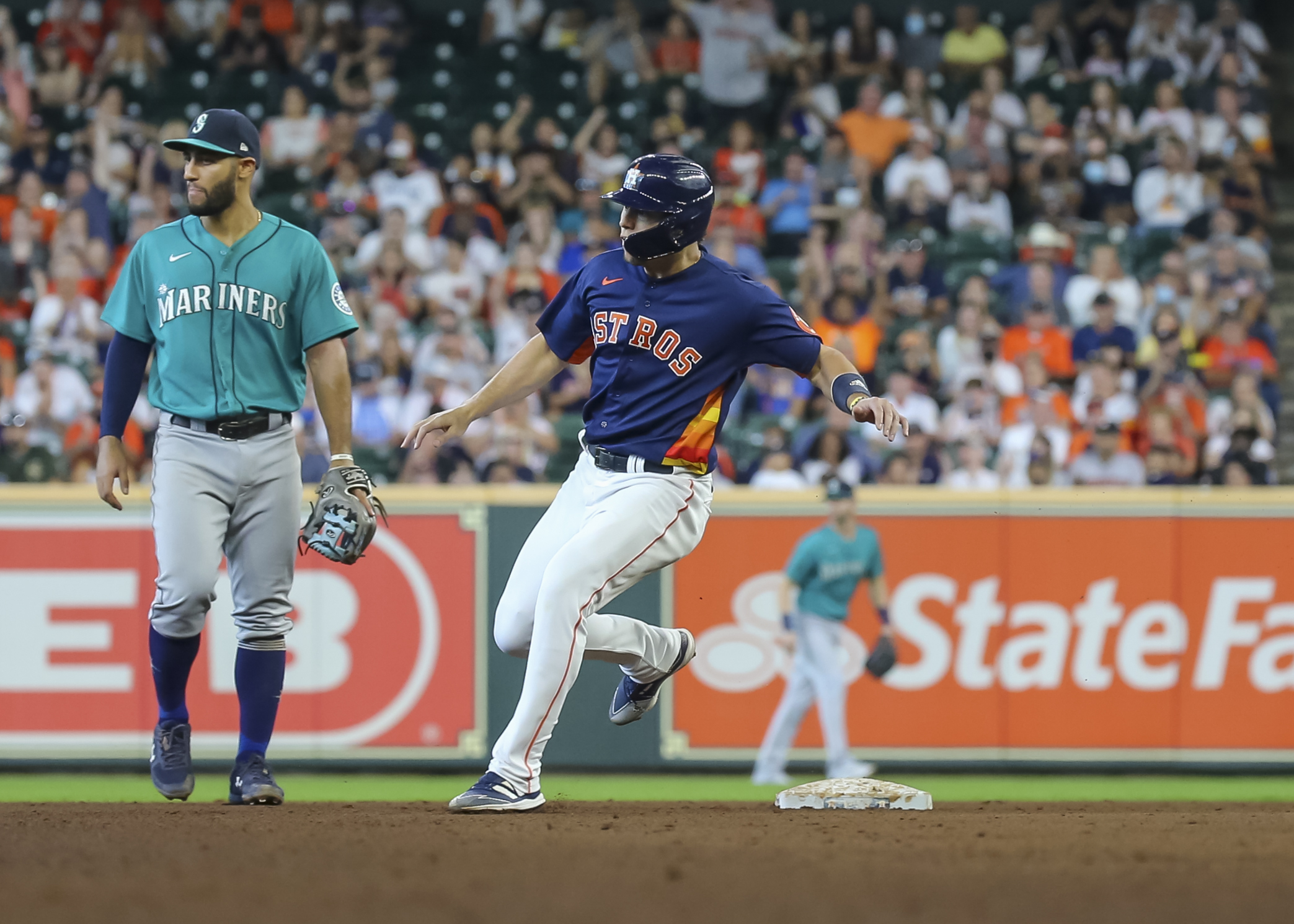 MLB: AUG 22 Mariners at Astros