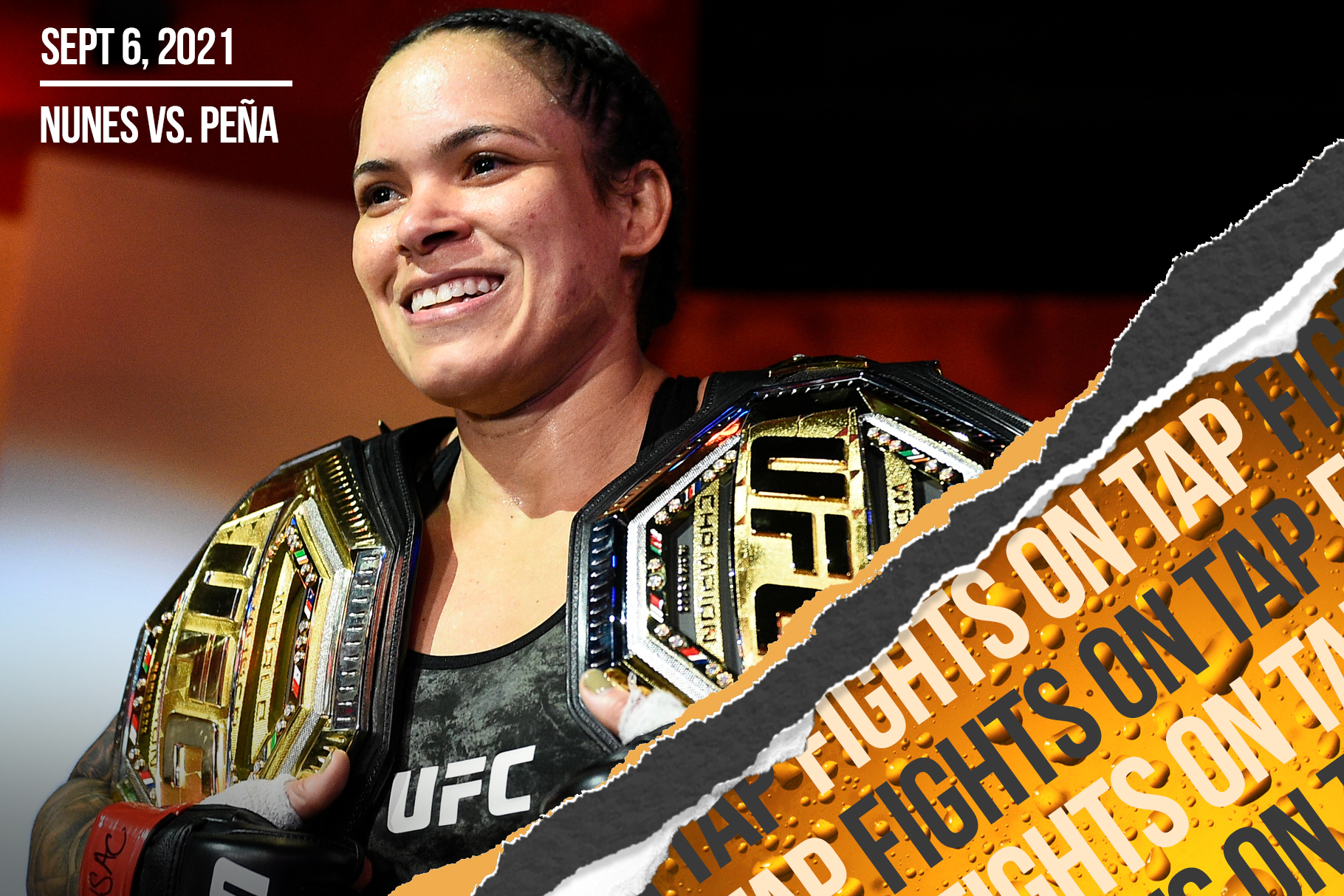Fights on Tap: Amanda Nunes vs. Julianna Peña among 16 UFC fights announced