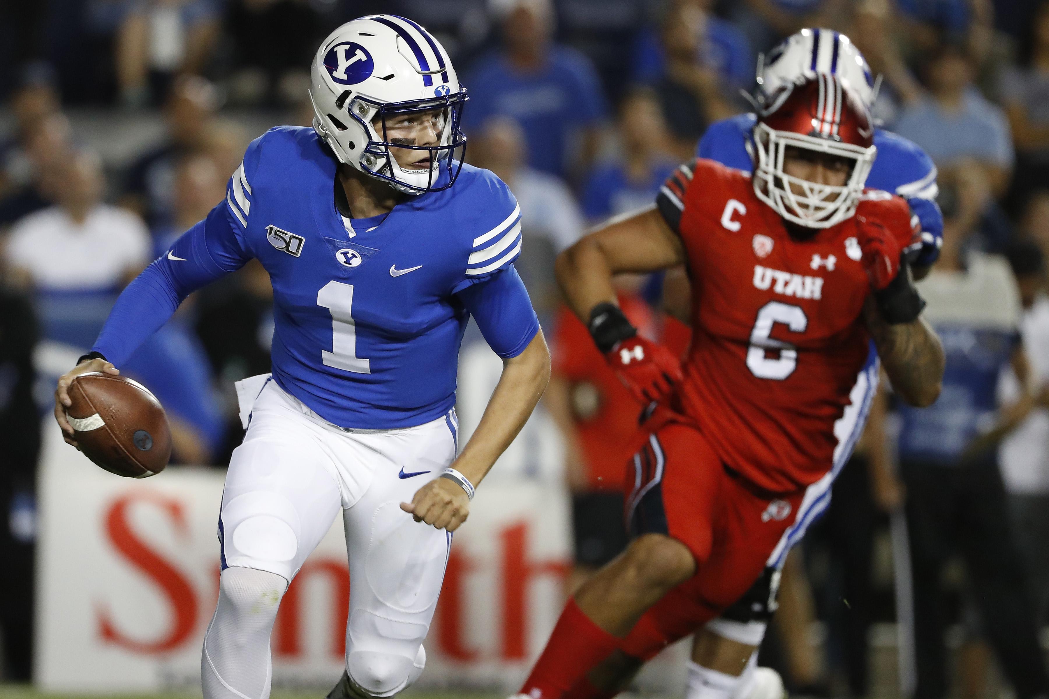 NCAA Football: Utah at Brigham Young
