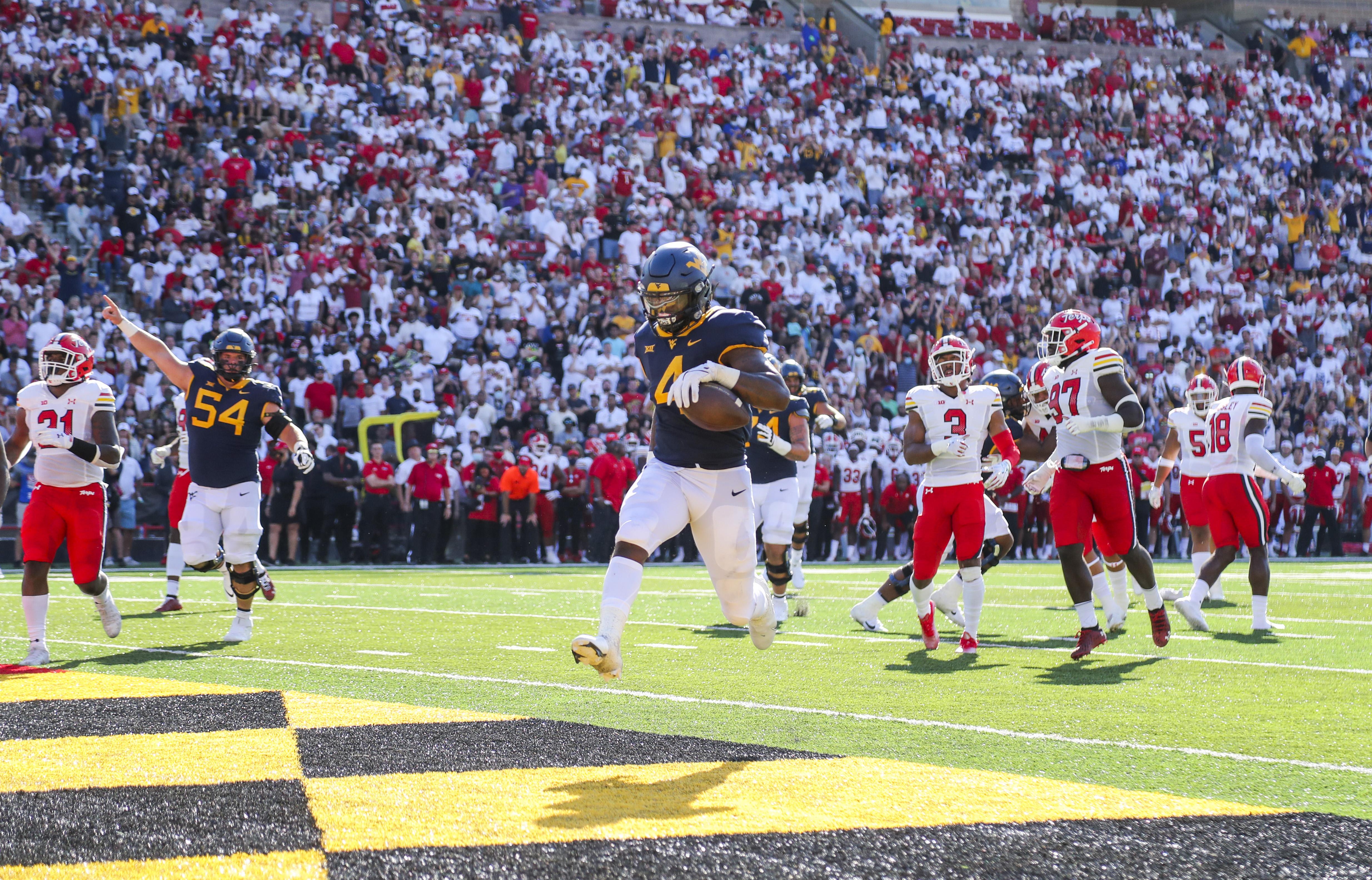 NCAA Football: West Virginia at Maryland