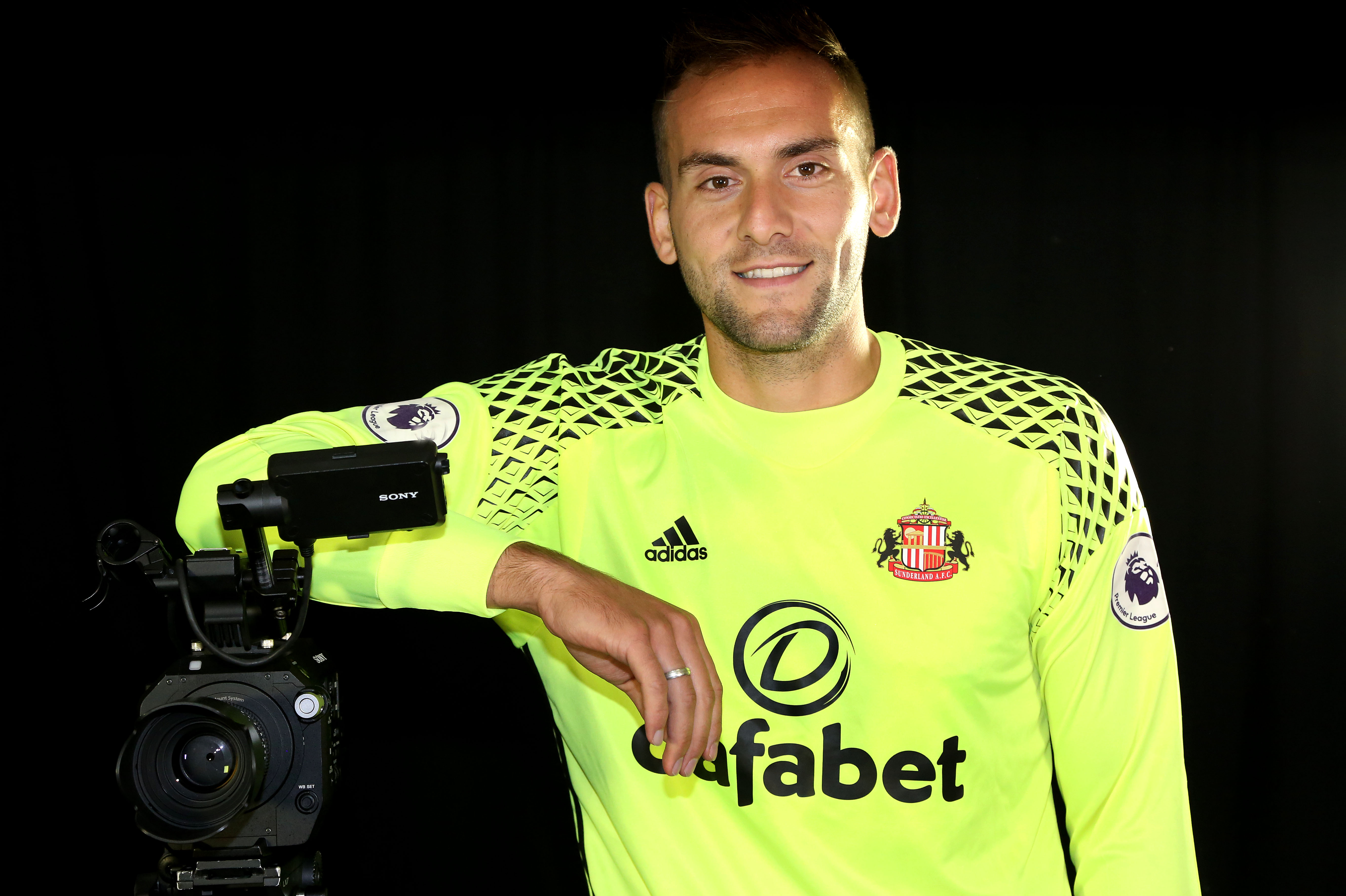 Sunderland Unveil New Loan Signing Michael Simoes Domingues
