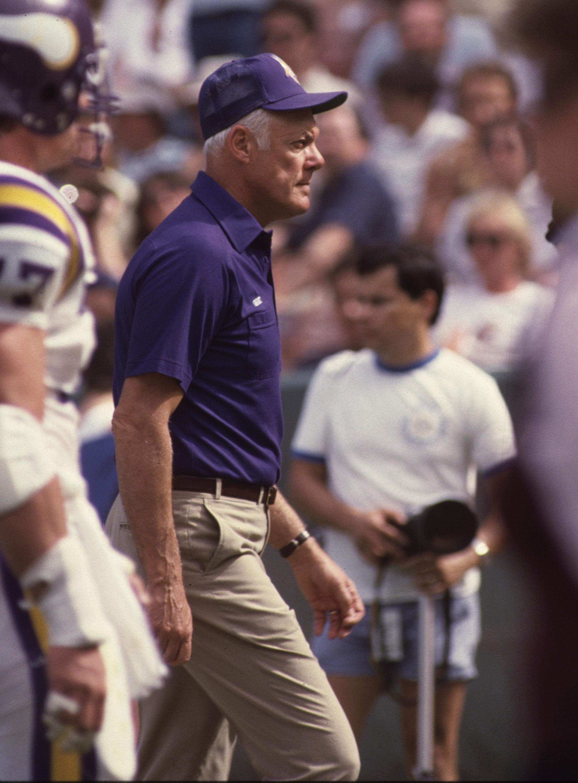Head Coach Bud Grant Rams vs Vikings