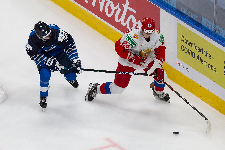 Finland v Russia: Bronze Medal Game - 2021 IIHF World Junior Championship
