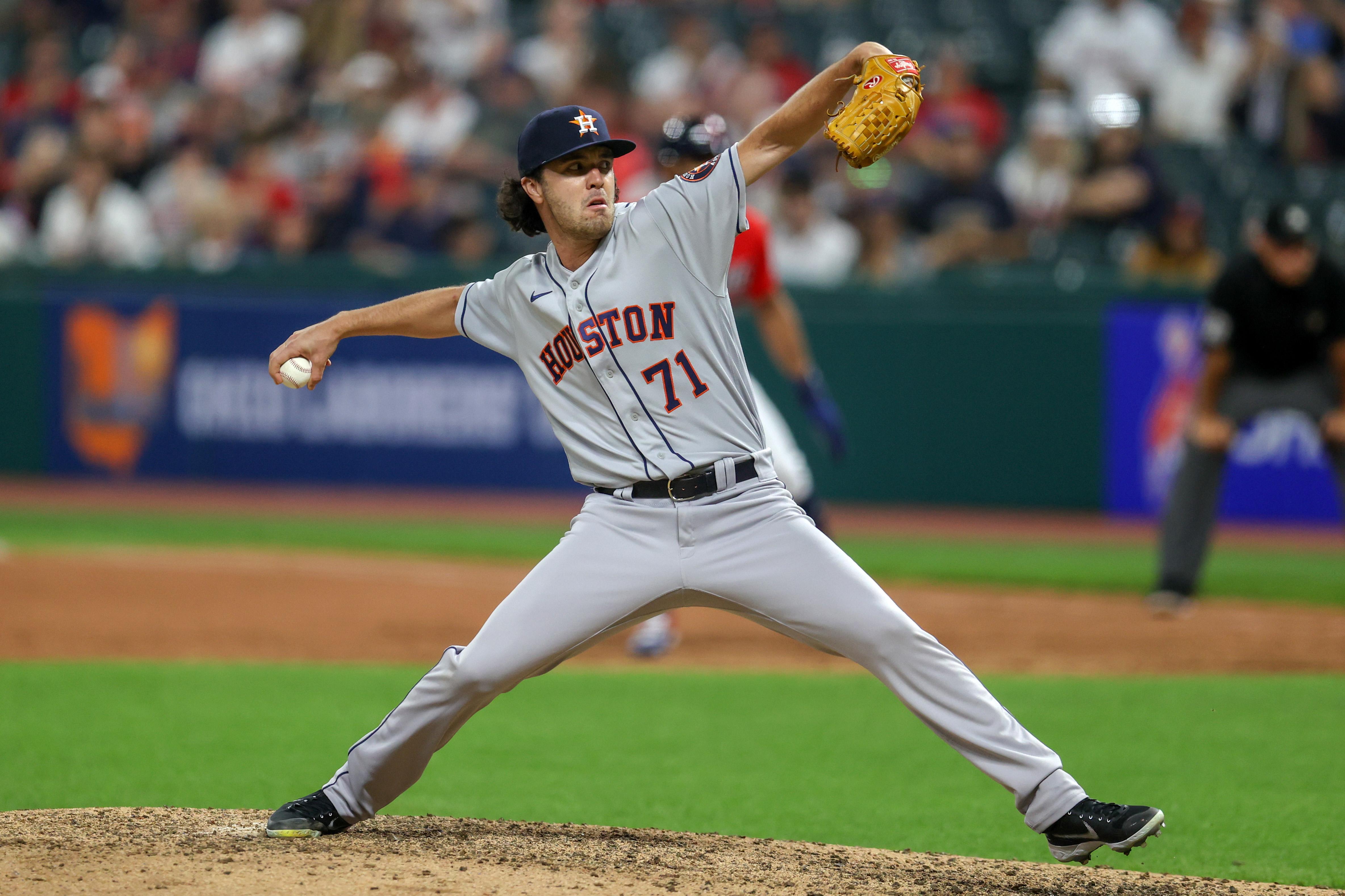 MLB: JUL 01 Astros at Indians