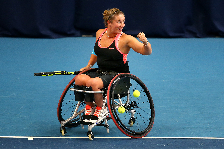 NEC Wheelchair Tennis Masters - Day 2