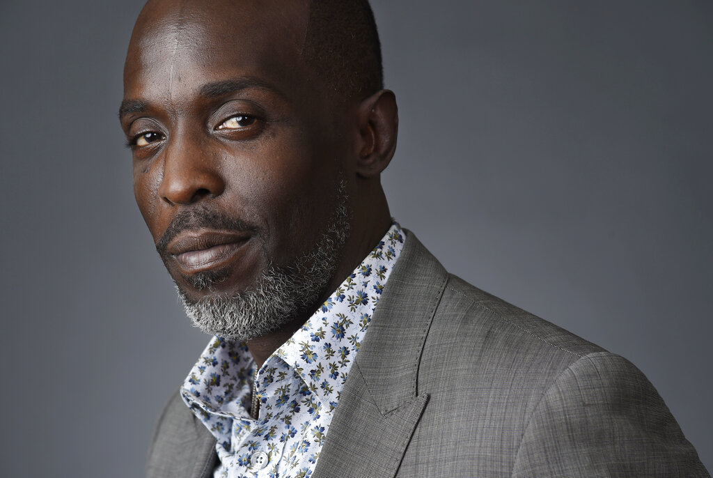 """Michael Kenneth Williams, a cast member in the HBO series """"The Night Of,"""" in Beverly Hills, California."""