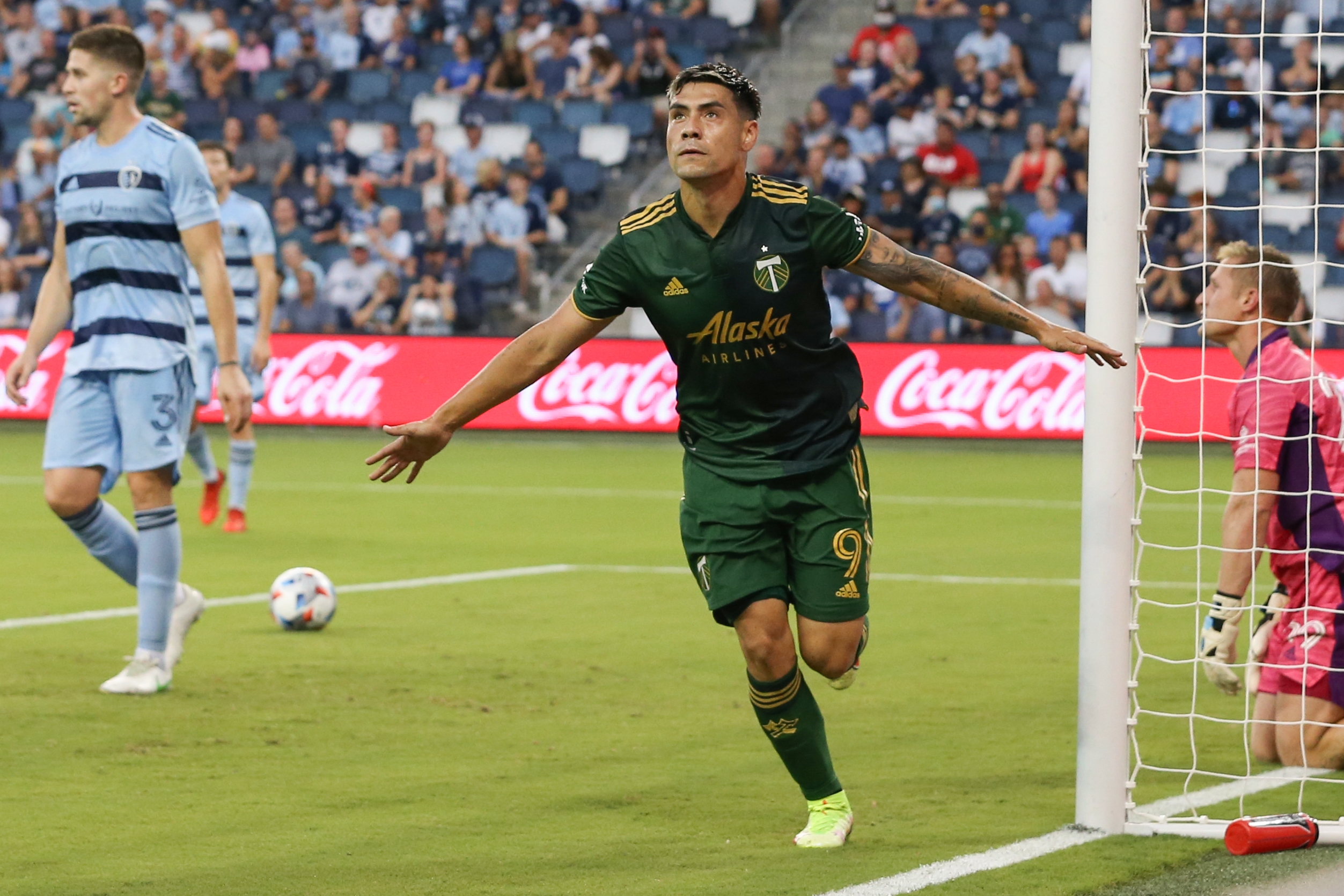 SOCCER: AUG 18 MLS - Portland Timbers at Sporting Kansas City
