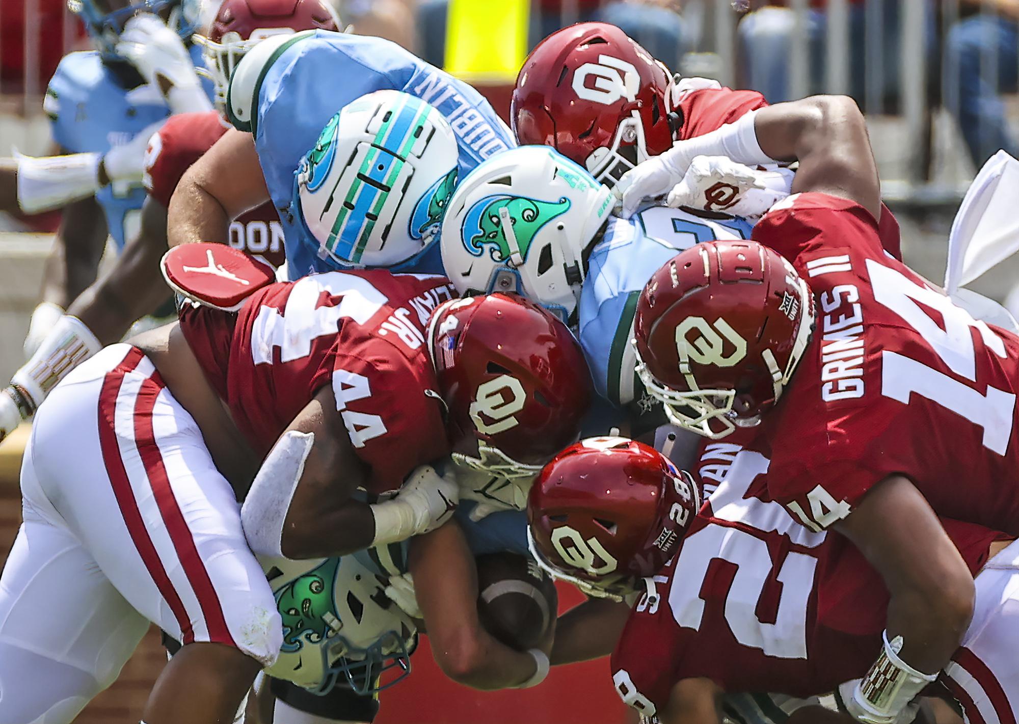 NCAA Football: Tulane at Oklahoma