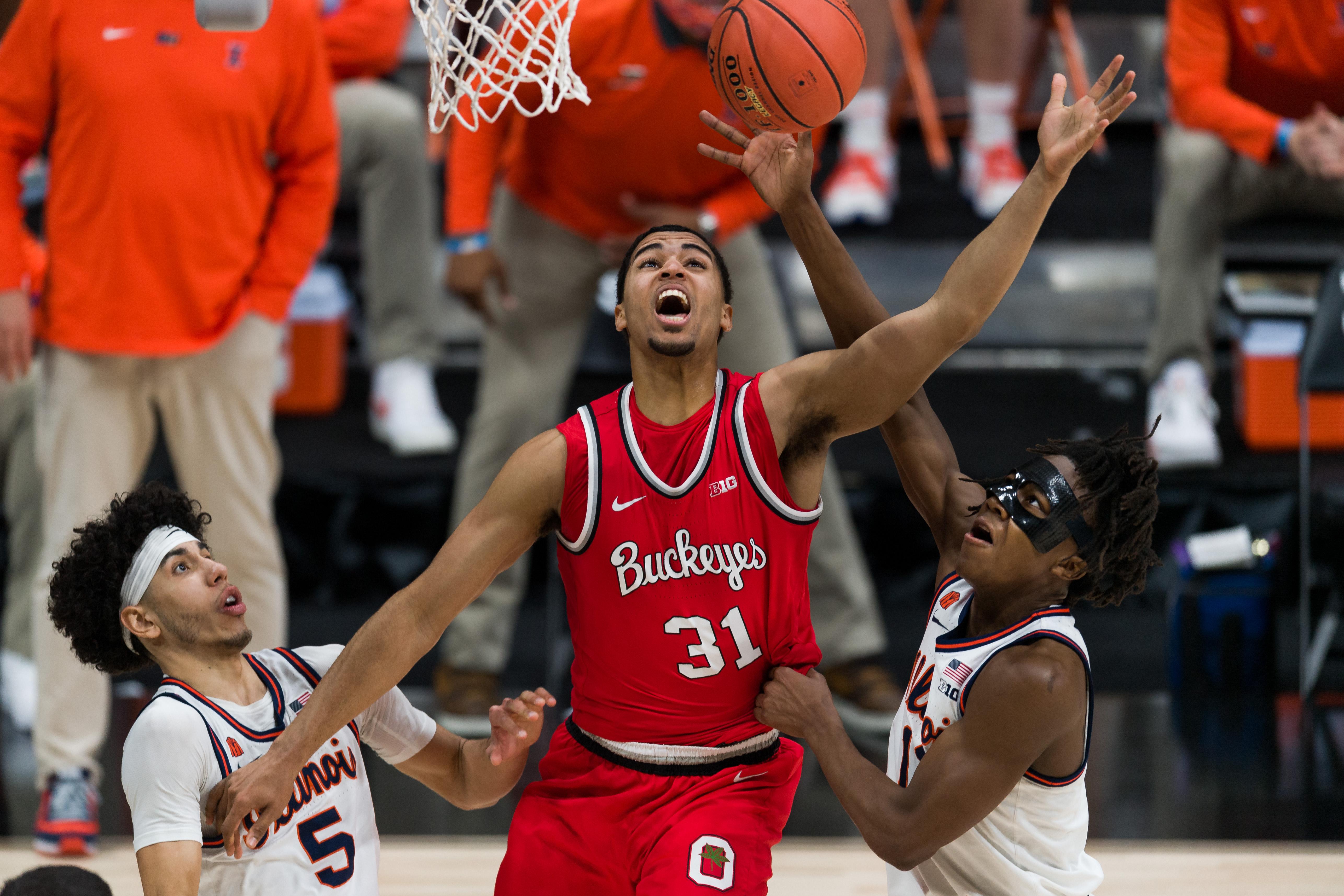COLLEGE BASKETBALL: MAR 14 Big Ten Tournament - Ohio State v Illinois