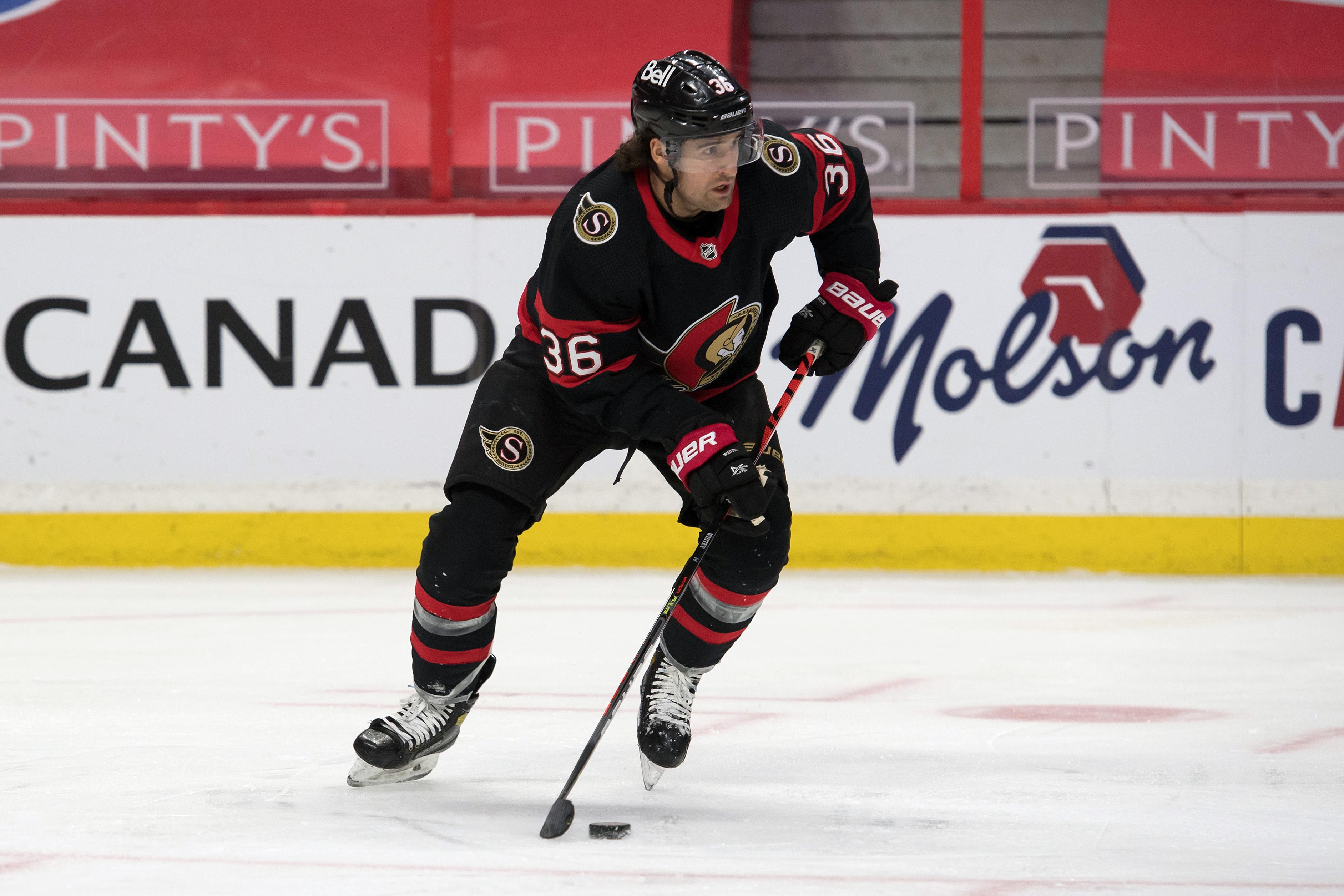 NHL: Calgary Flames at Ottawa Senators