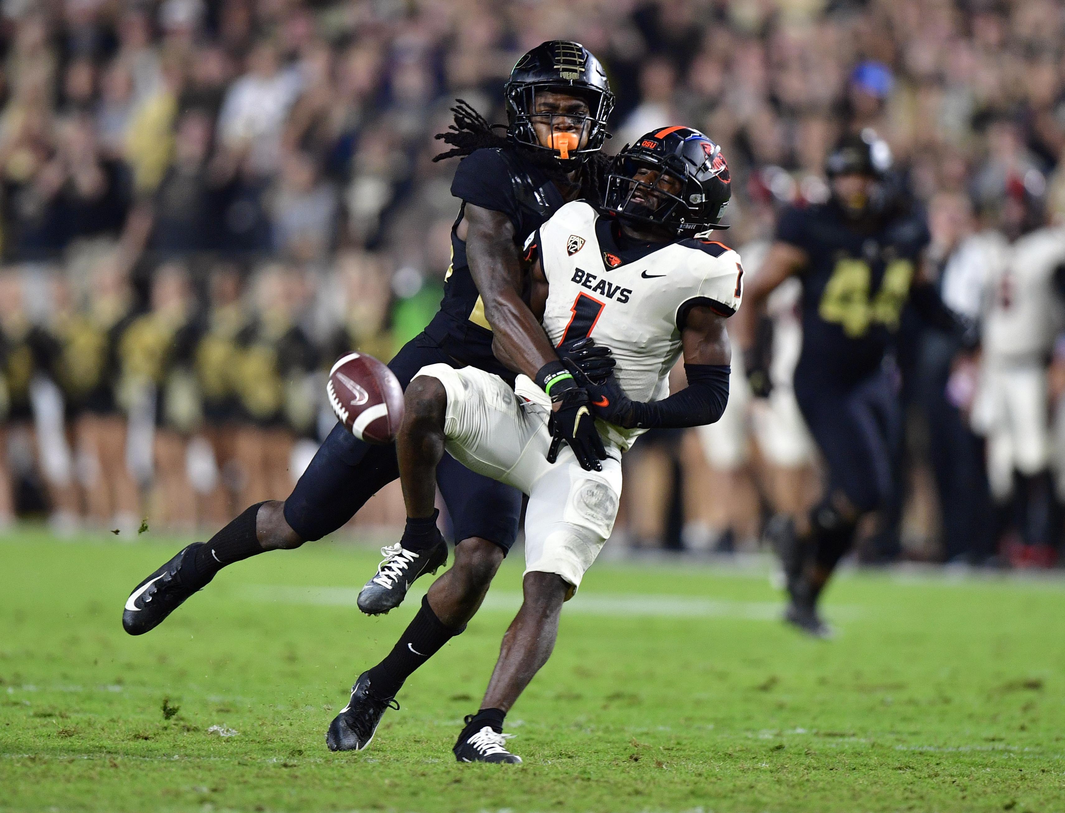 NCAA Football: Oregon State at Purdue