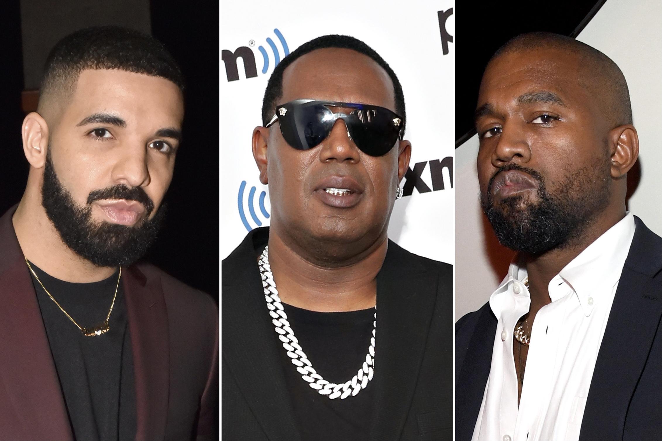 Drake, Master P, Kanye West